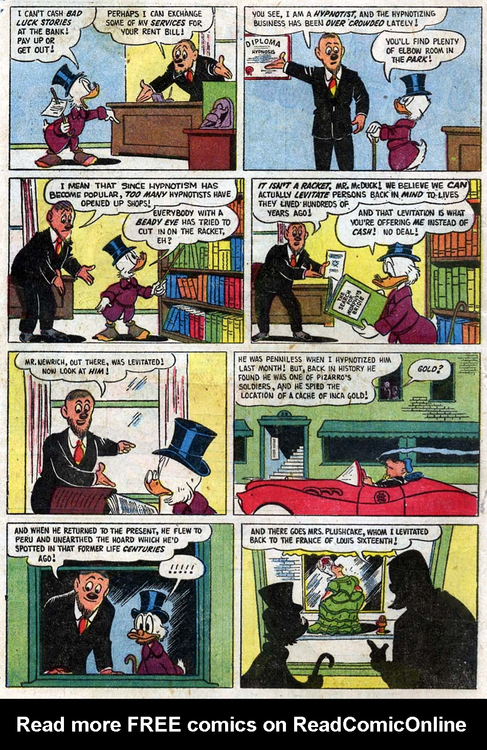 Uncle Scrooge (1953) Issue #16 #16 - English 4