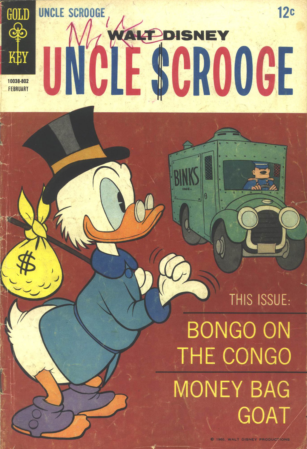 Uncle Scrooge (1953) Issue #73 #73 - English 1