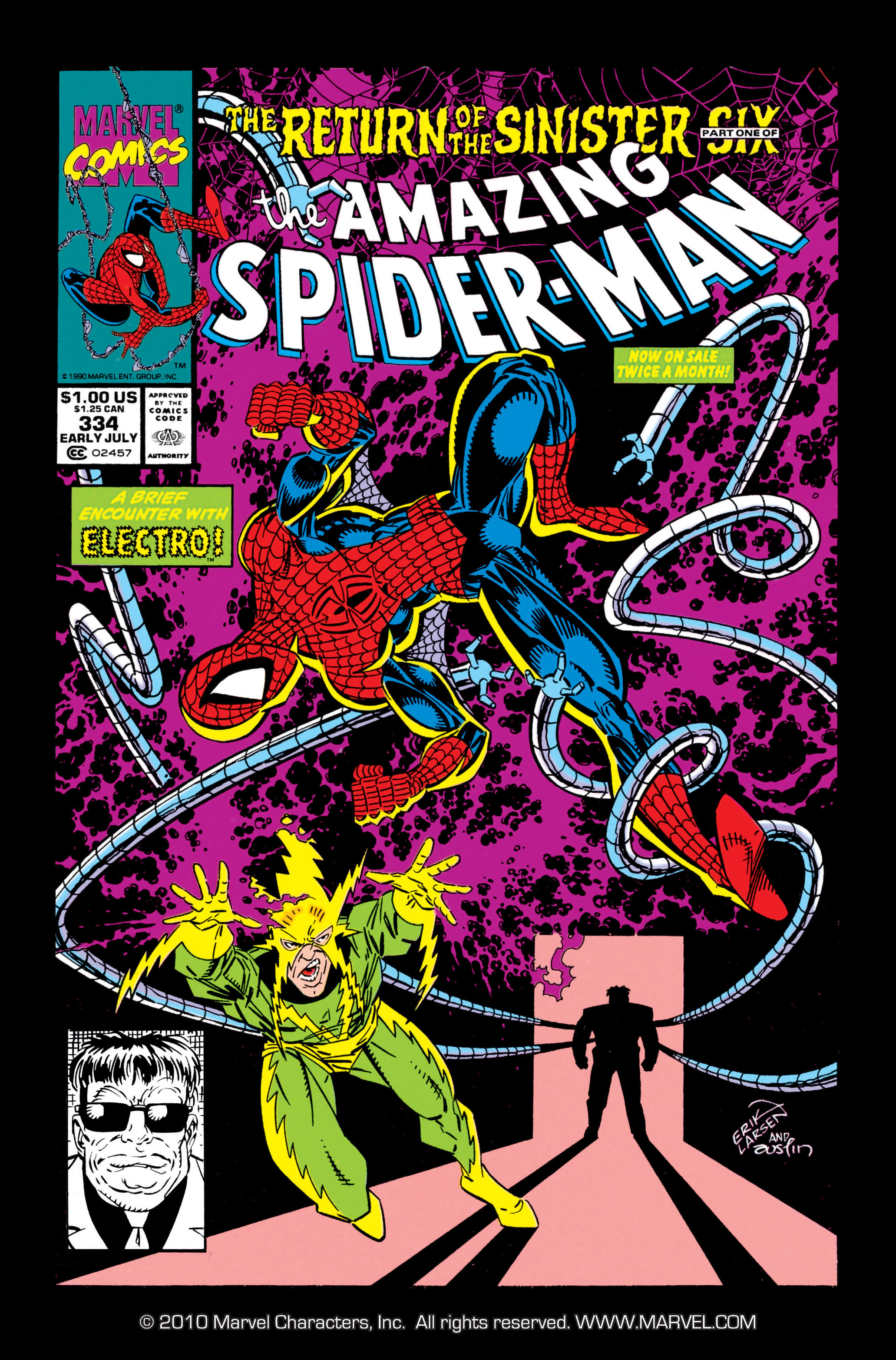 The Amazing Spider-Man (1963) 334 Page 1