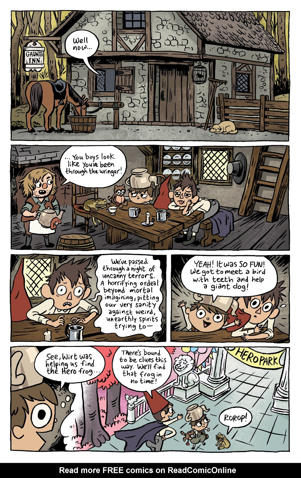 Over the Garden Wall (2016) Issue #6 #6 - English 3