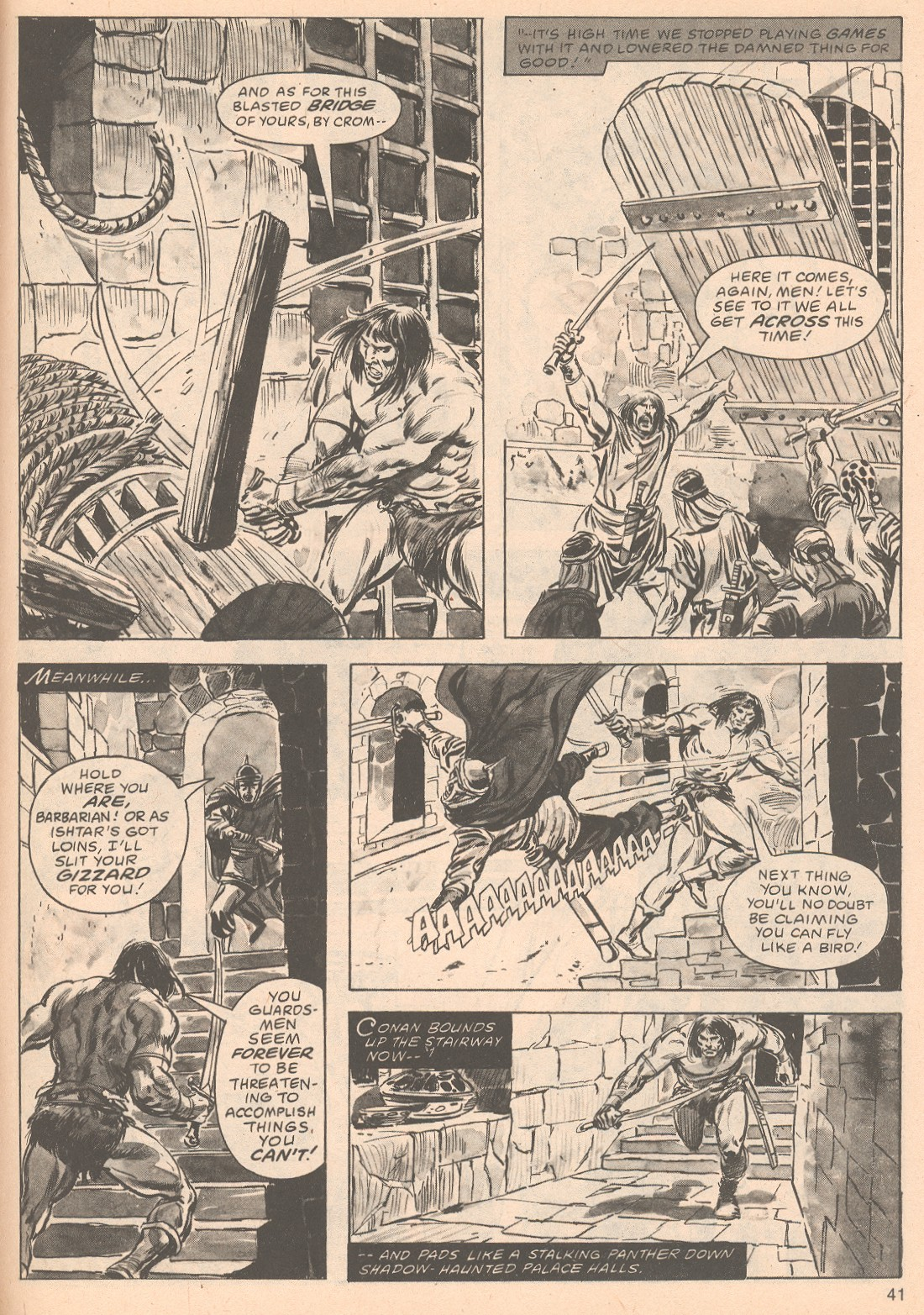 The Savage Sword Of Conan Issue #63 #64 - English 41