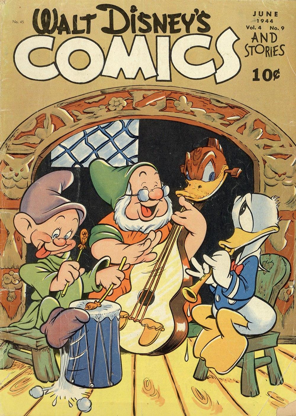 Walt Disneys Comics and Stories 45 Page 1