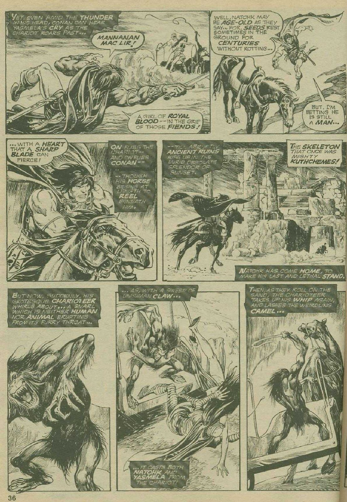 The Savage Sword Of Conan Issue #2 #3 - English 35