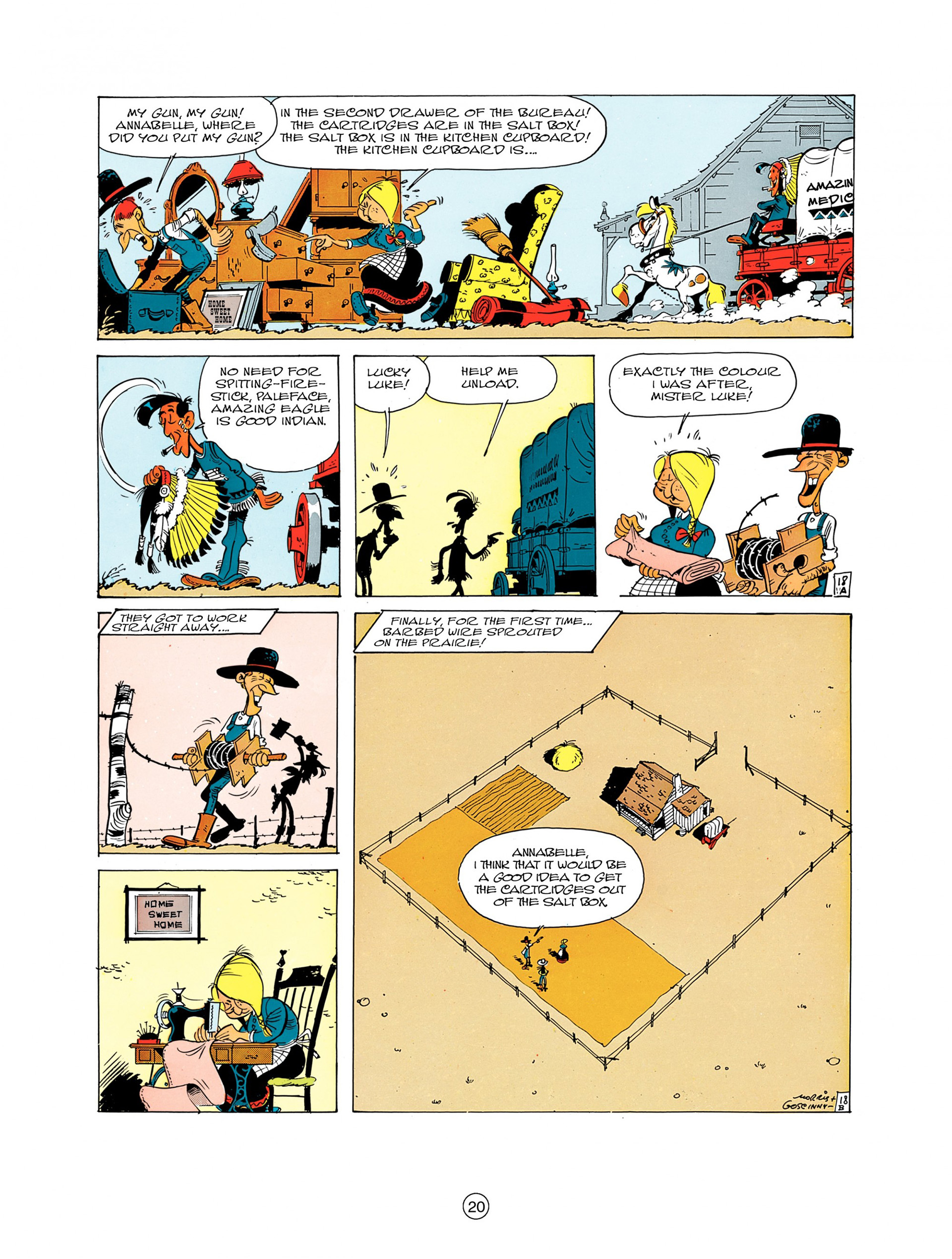 A Lucky Luke Adventure 7 Page 19