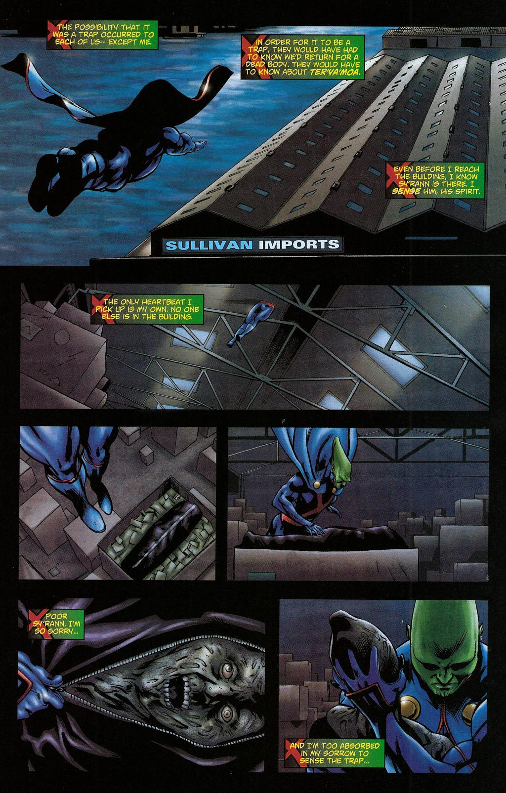 Read online Martian Manhunter (2006) comic -  Issue #5 - 17