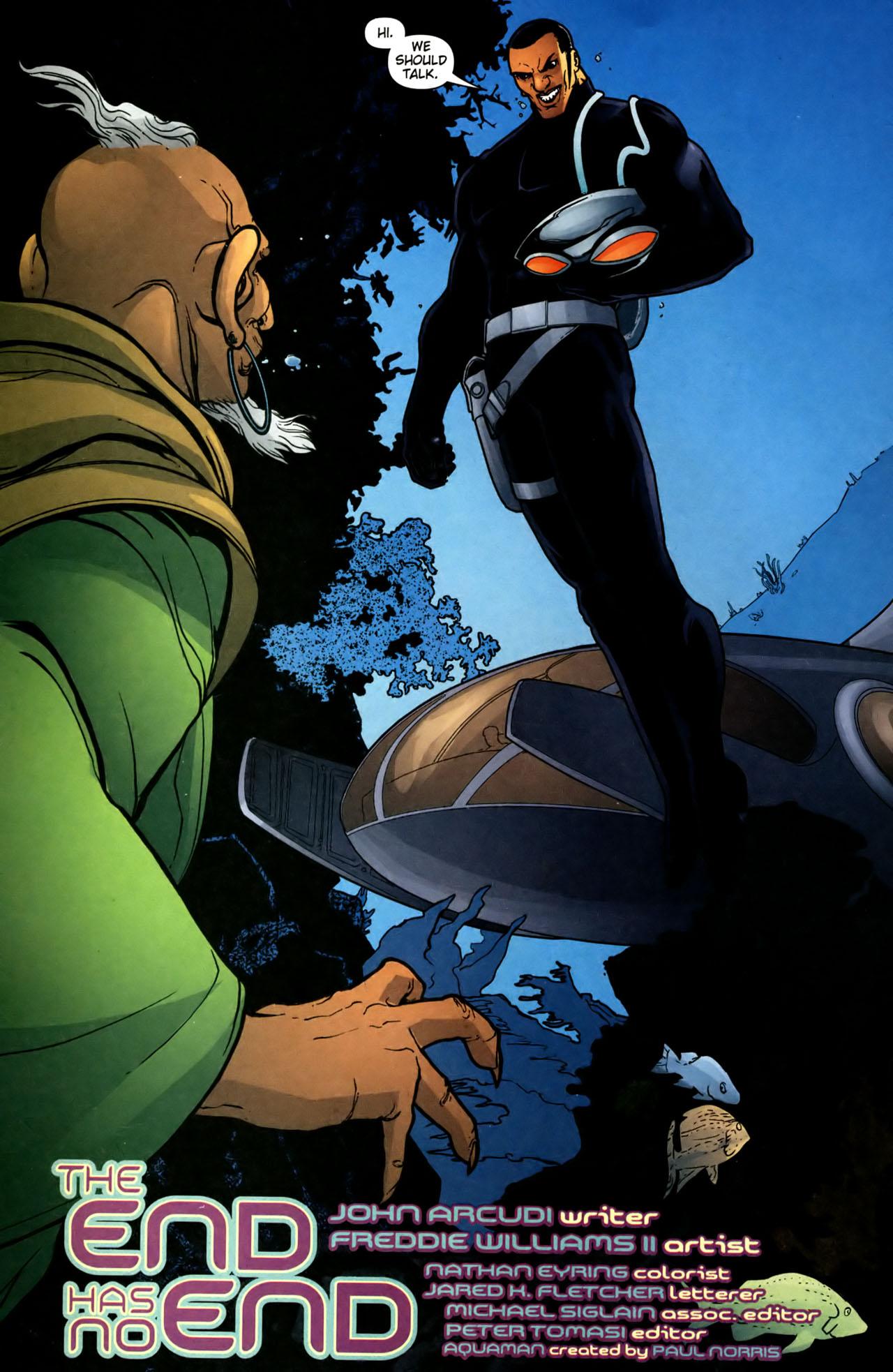 Read online Aquaman (2003) comic -  Issue #39 - 6