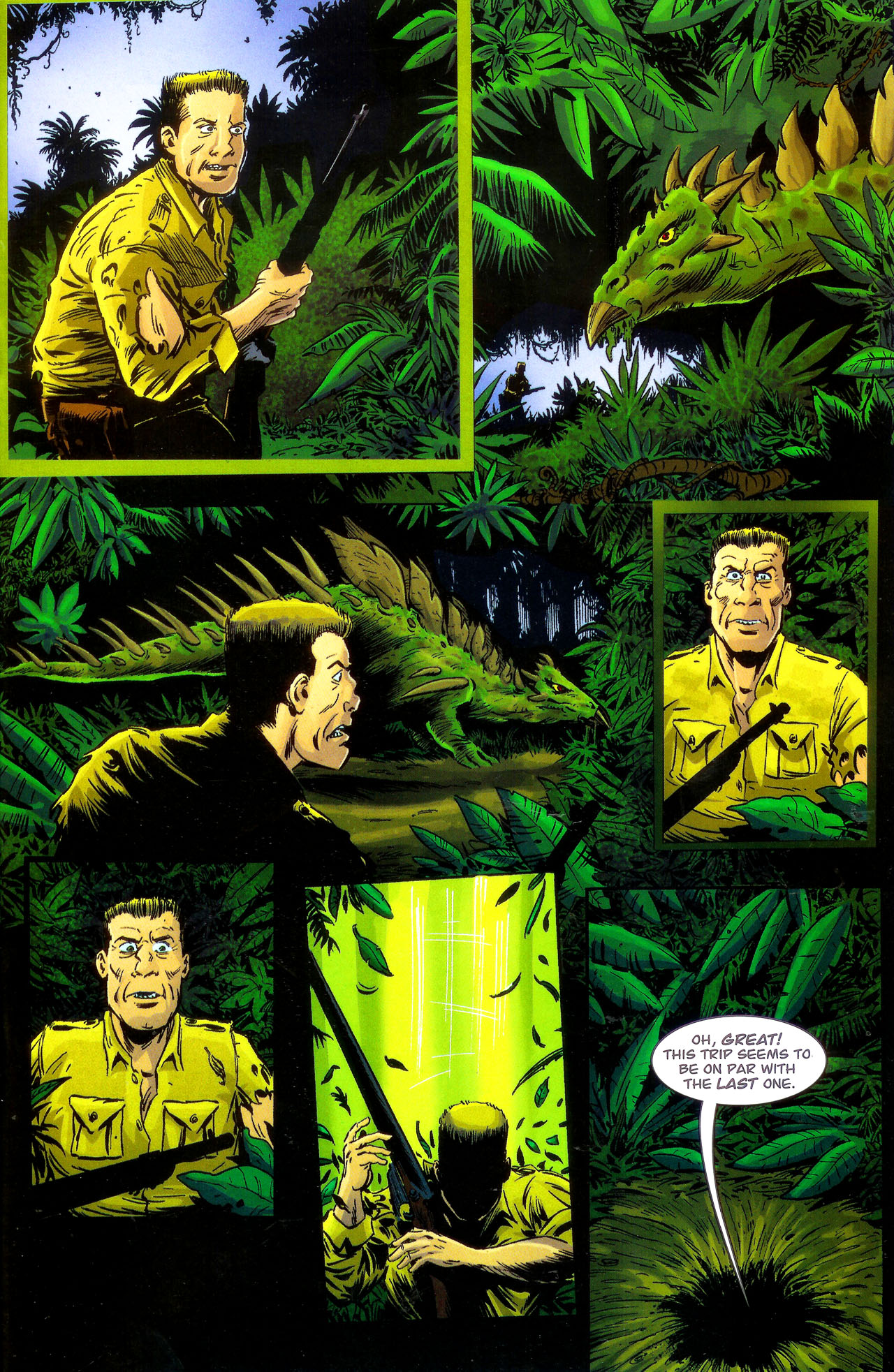 Read online Kong: King Of Skull Island comic -  Issue #1 - 19