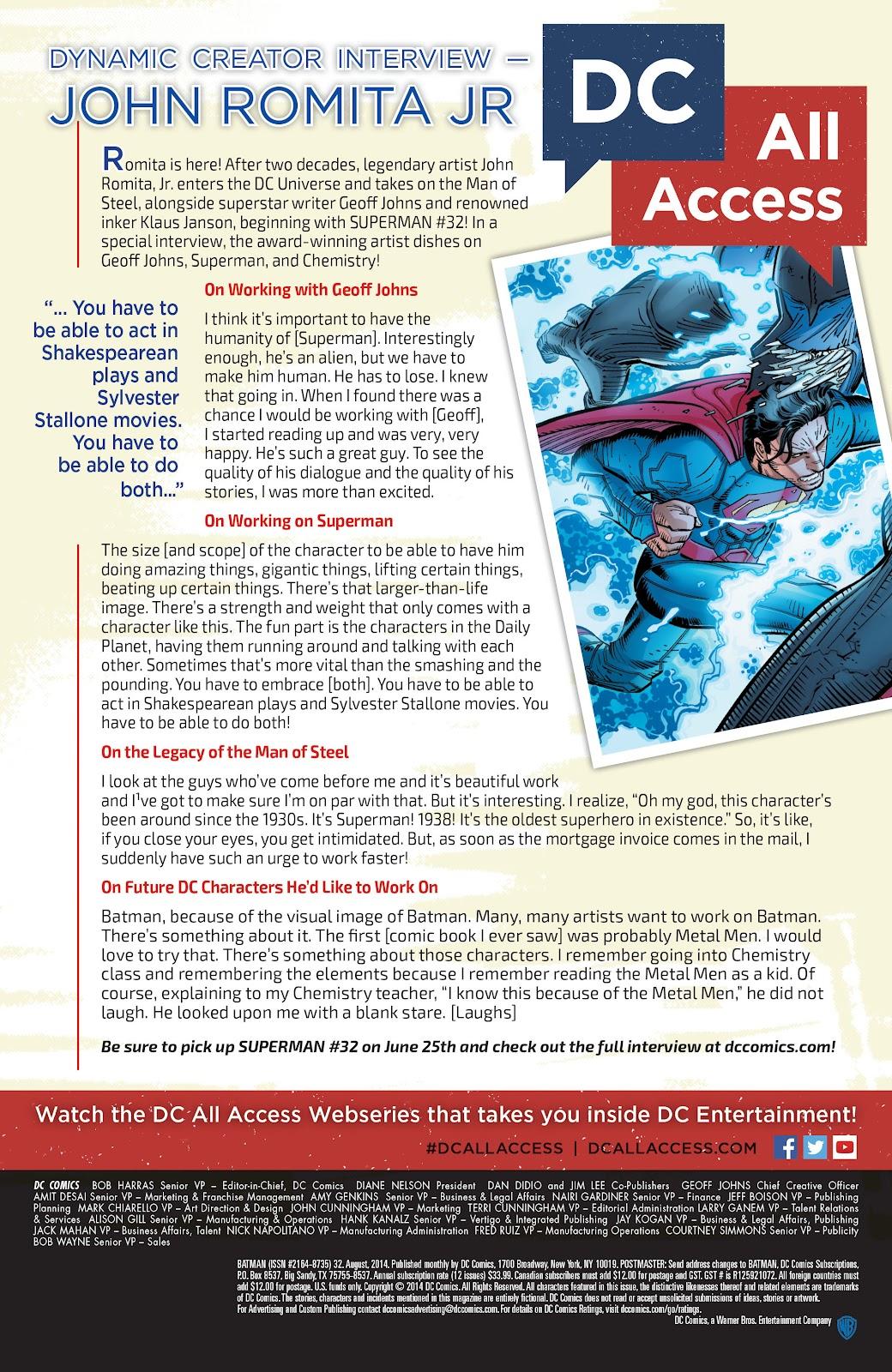 Batman (2011) Issue #32 #51 - English 29