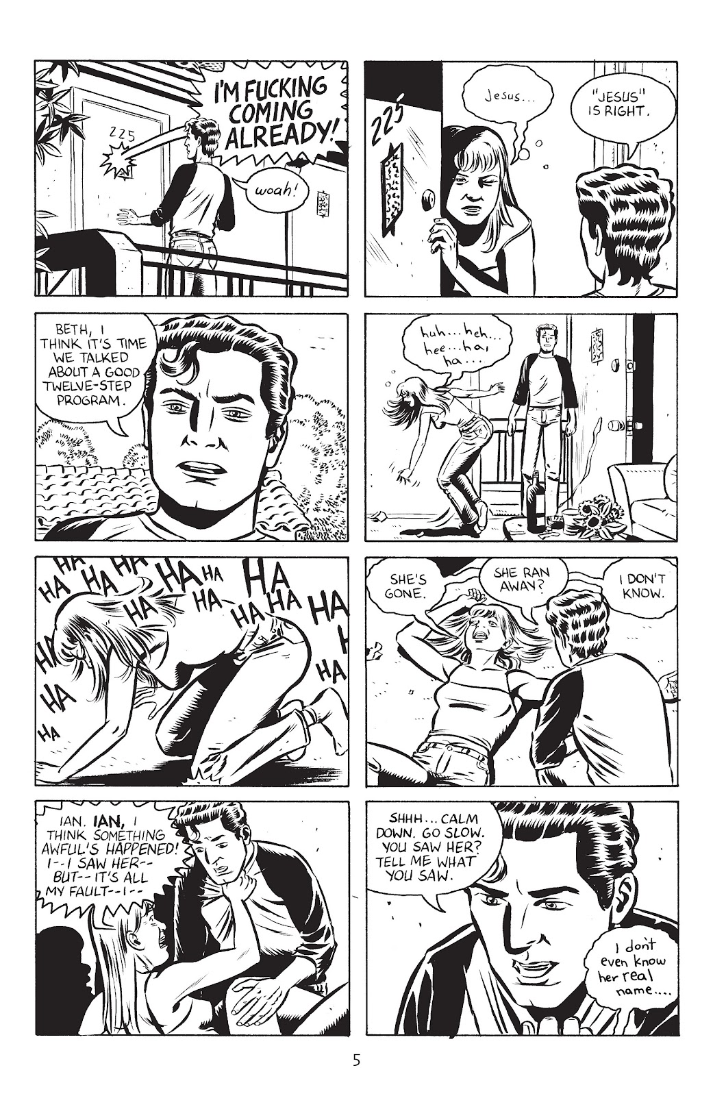 Stray Bullets Issue #27 #27 - English 7