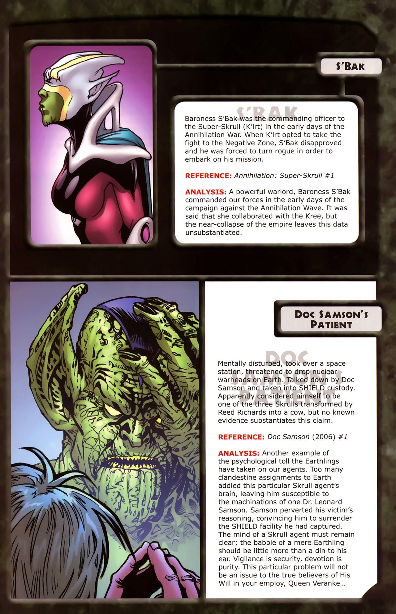 Read online Skrulls! comic -  Issue # Full - 41