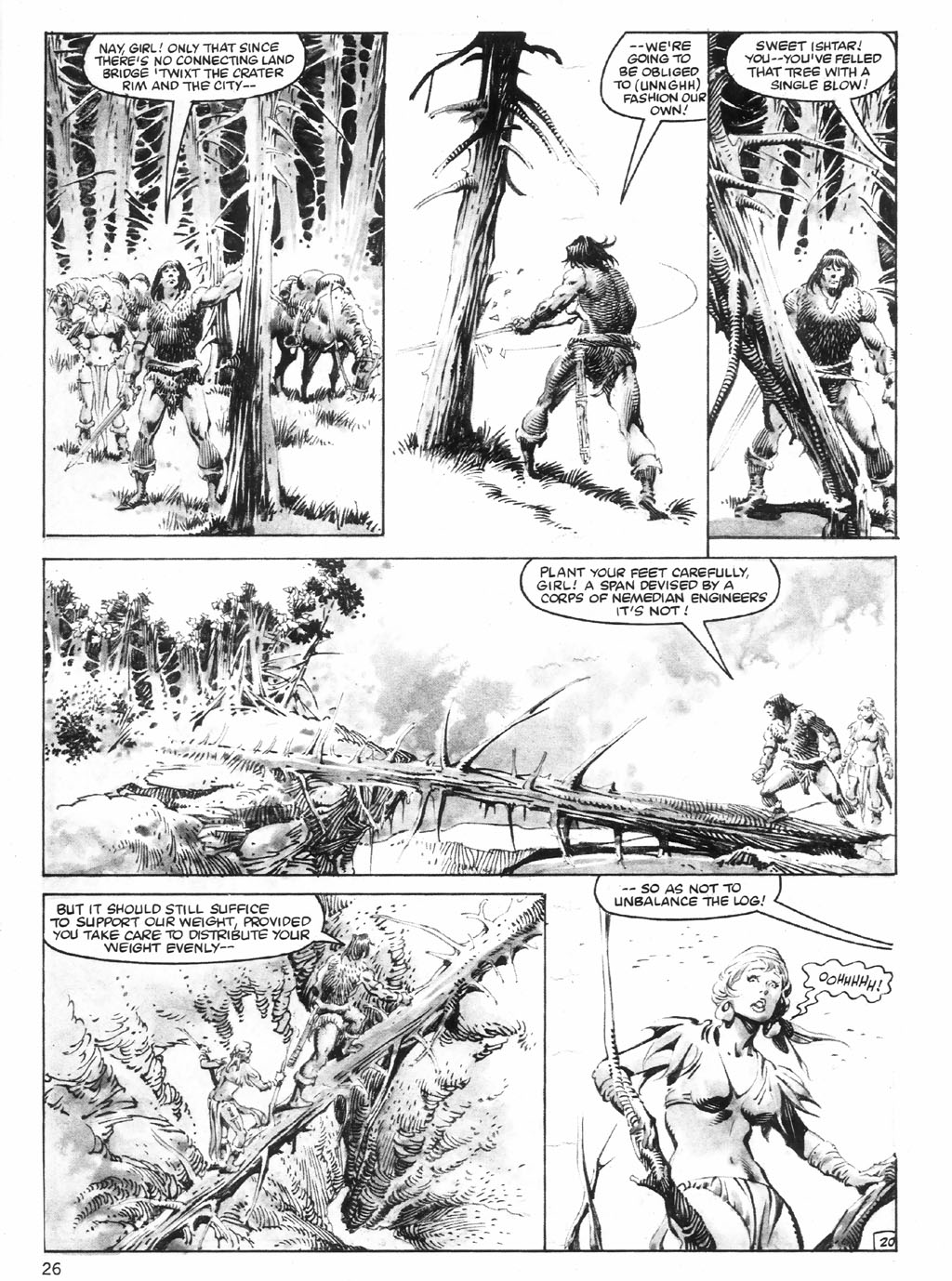 The Savage Sword Of Conan Issue #98 #99 - English 26