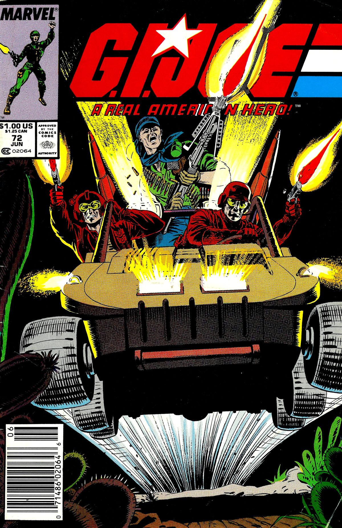 G.I. Joe: A Real American Hero 72 Page 1