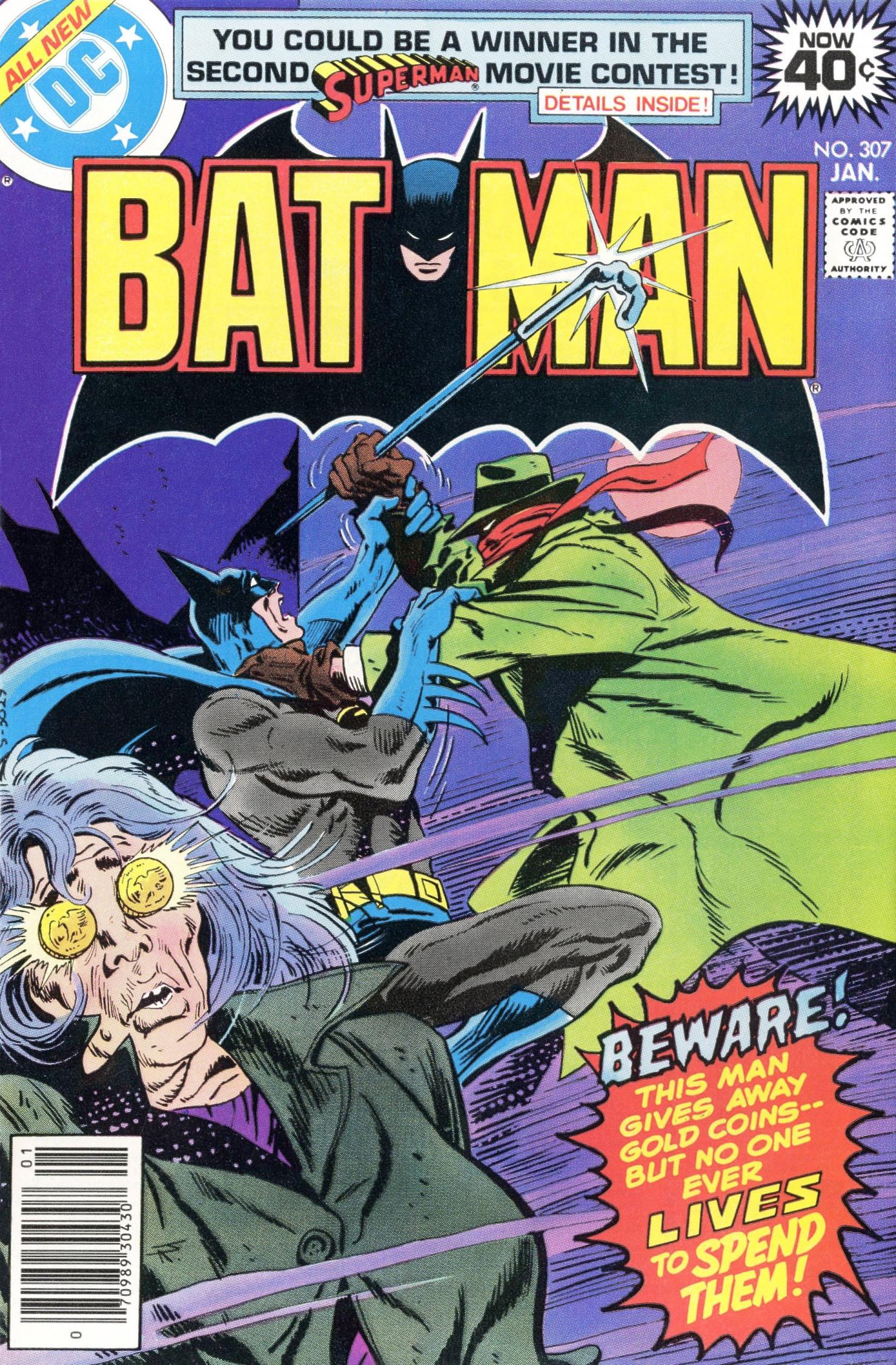 Batman (1940) 307 Page 1