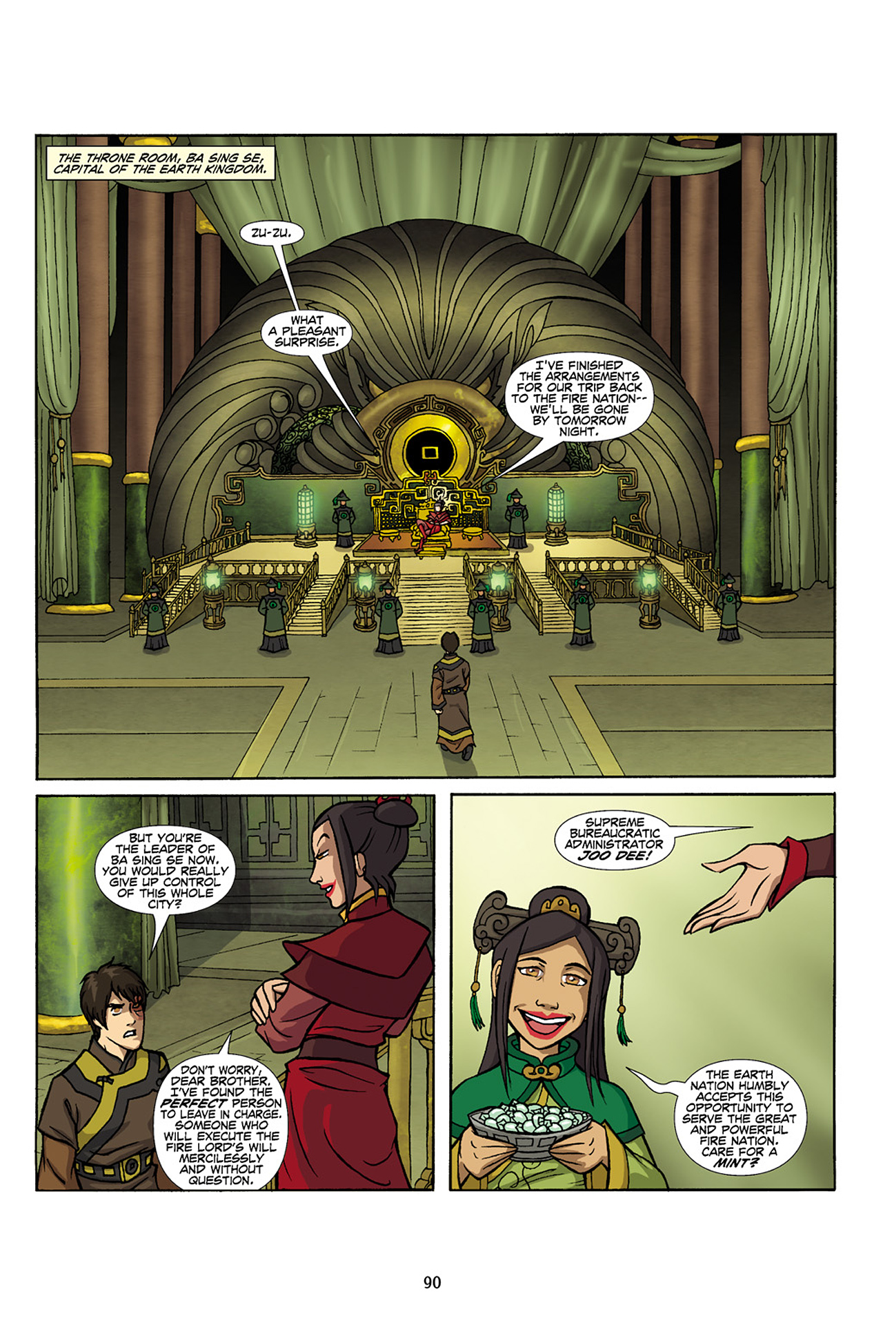 Nickelodeon Avatar: The Last Airbender - The Lost Adventures chap full pic 91