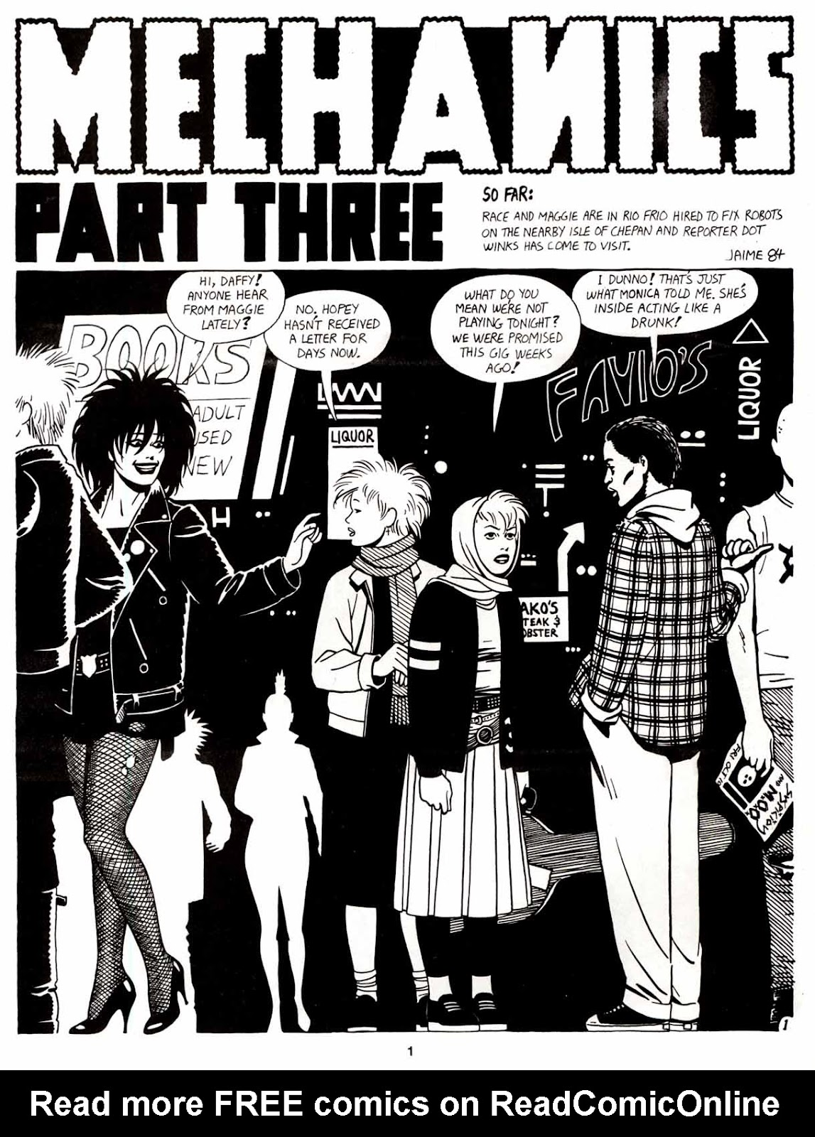 Love and Rockets (1982) Issue #8 #7 - English 3