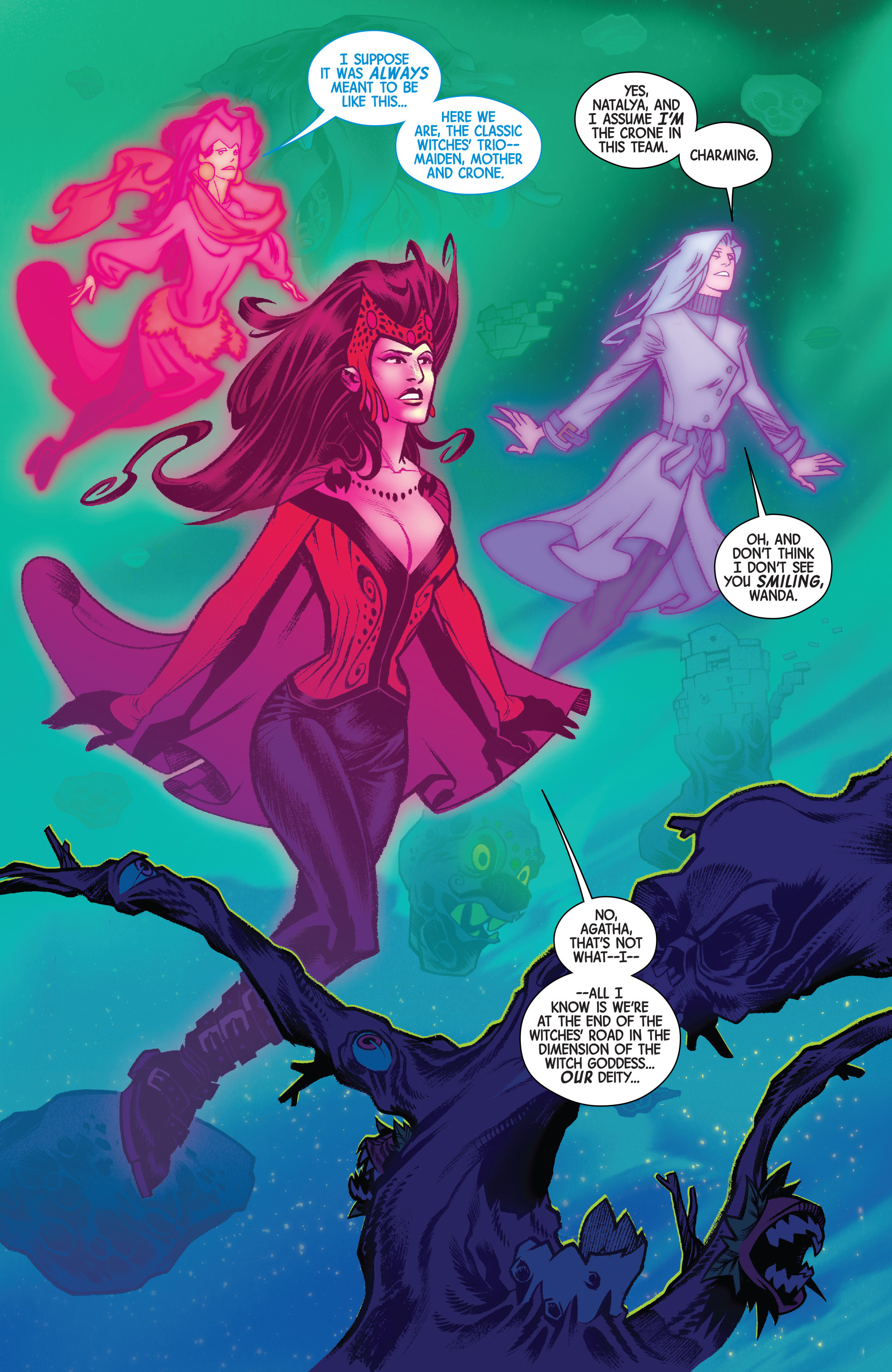 Read online Scarlet Witch (2016) comic -  Issue #14 - 3