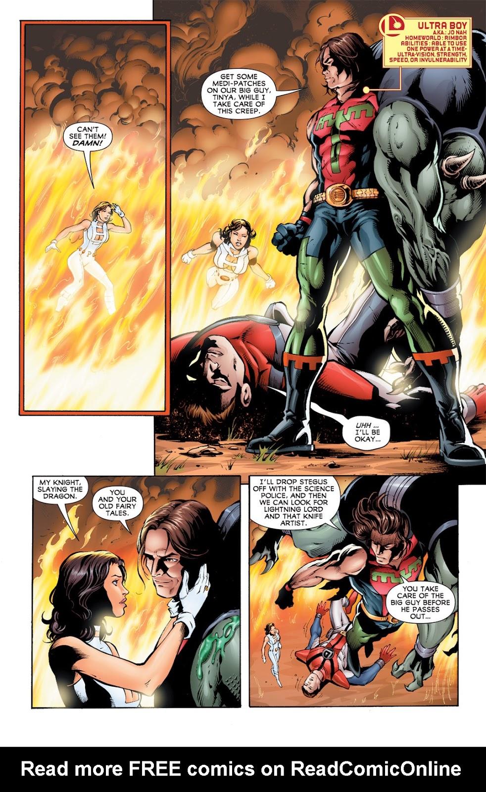 Legion of Super-Heroes (2010) Issue #12 #13 - English 6