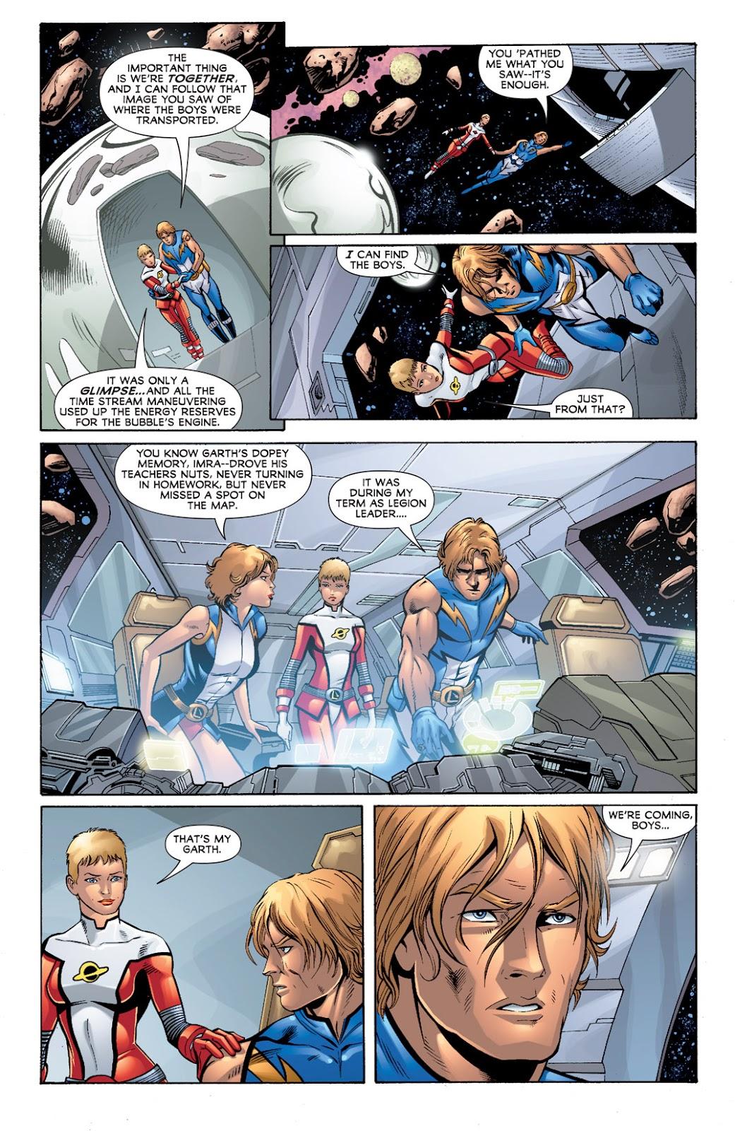 Legion of Super-Heroes (2010) Issue #3 #4 - English 11