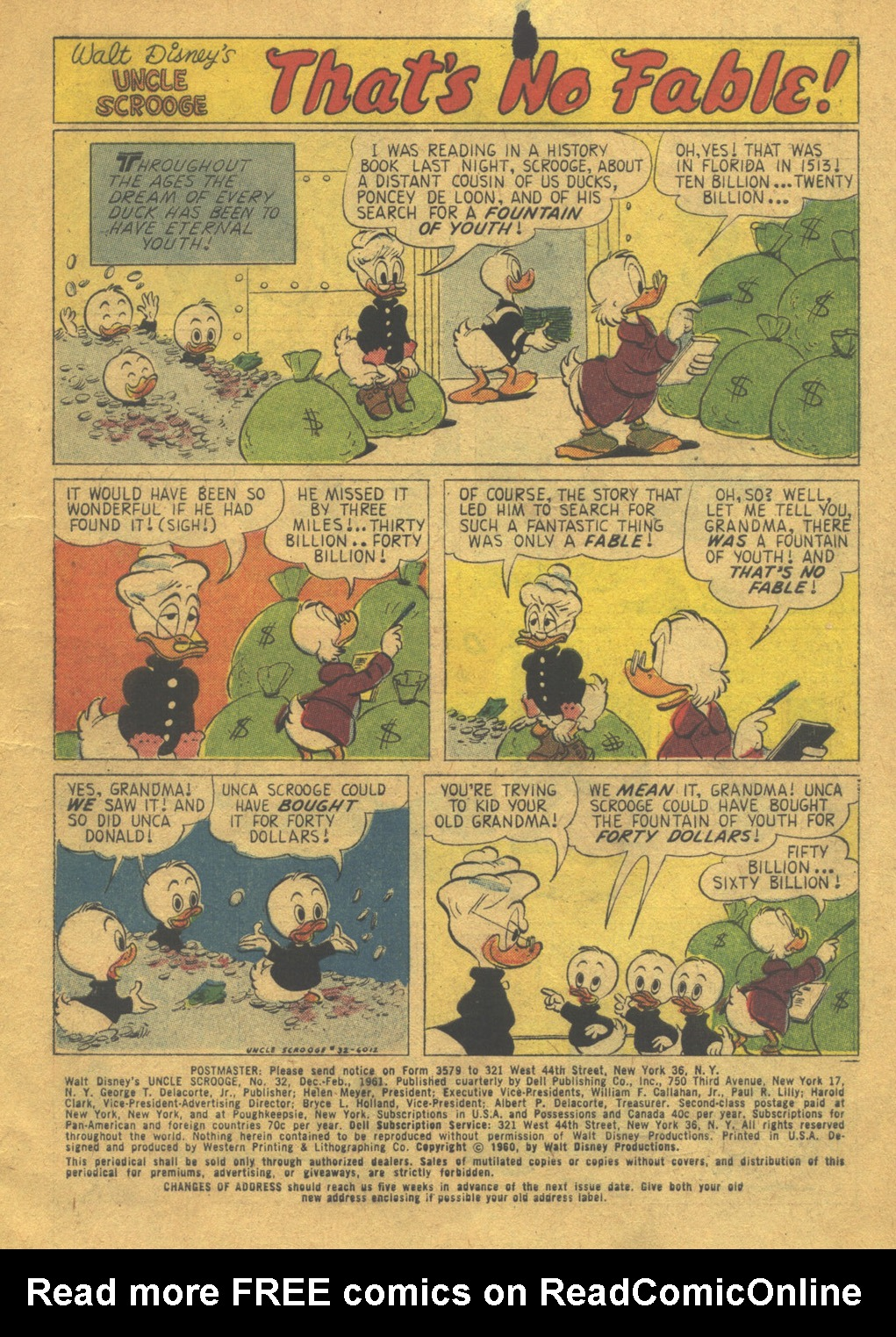 Uncle Scrooge (1953) Issue #32 #32 - English 3
