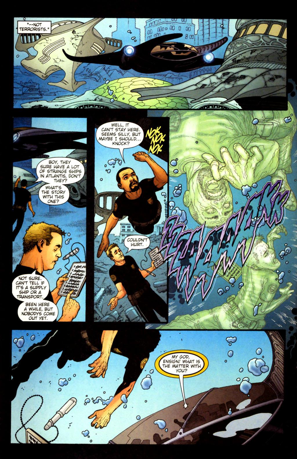 Read online Aquaman (2003) comic -  Issue #38 - 15