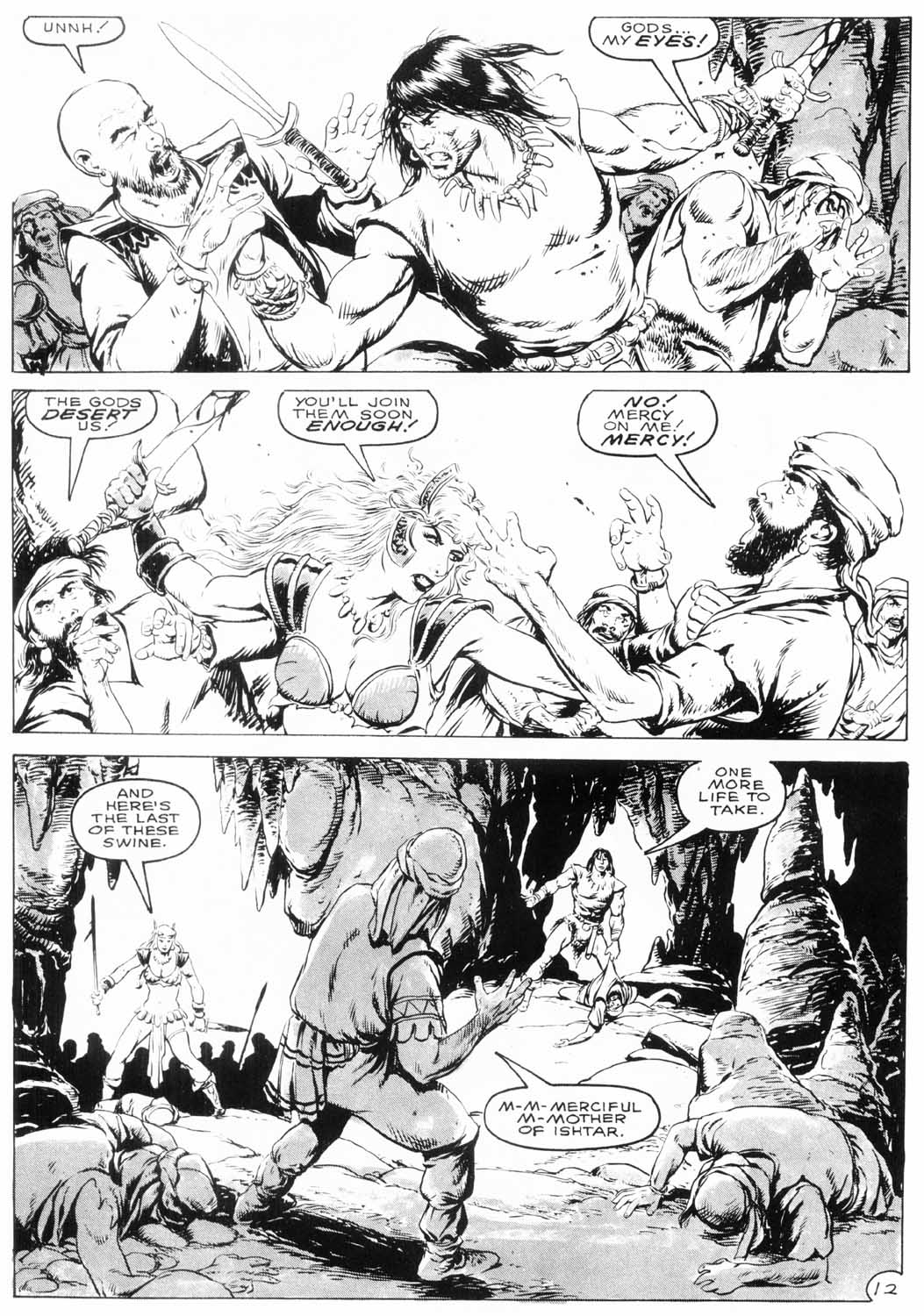 The Savage Sword Of Conan Issue #154 #155 - English 15