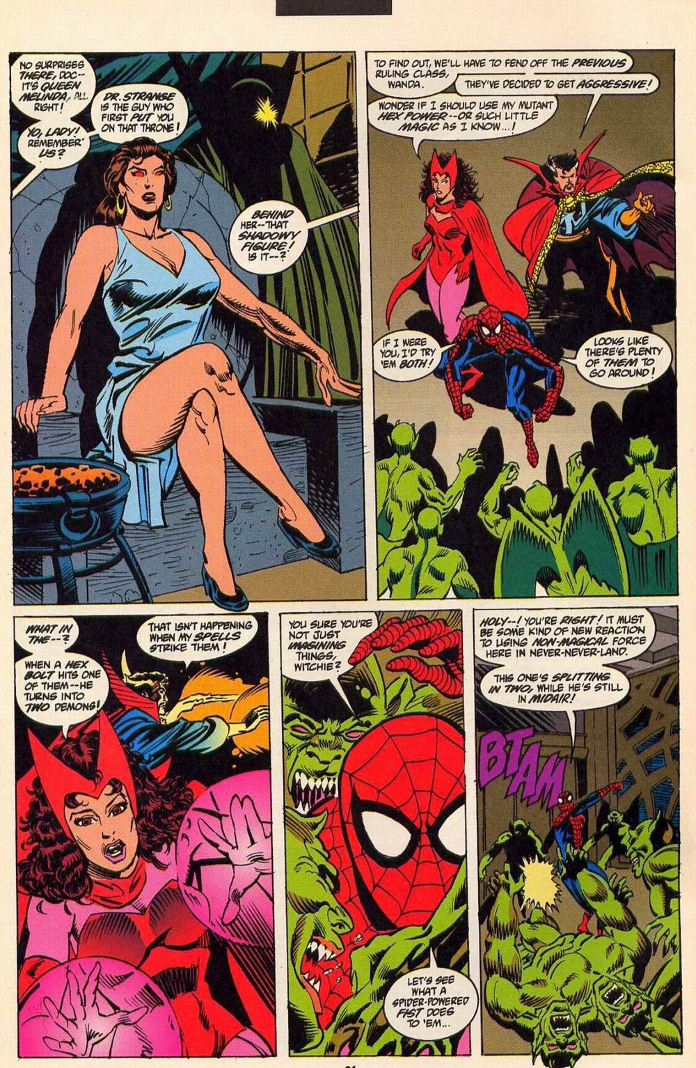 Read online Secret Defenders comic -  Issue #6 - 19