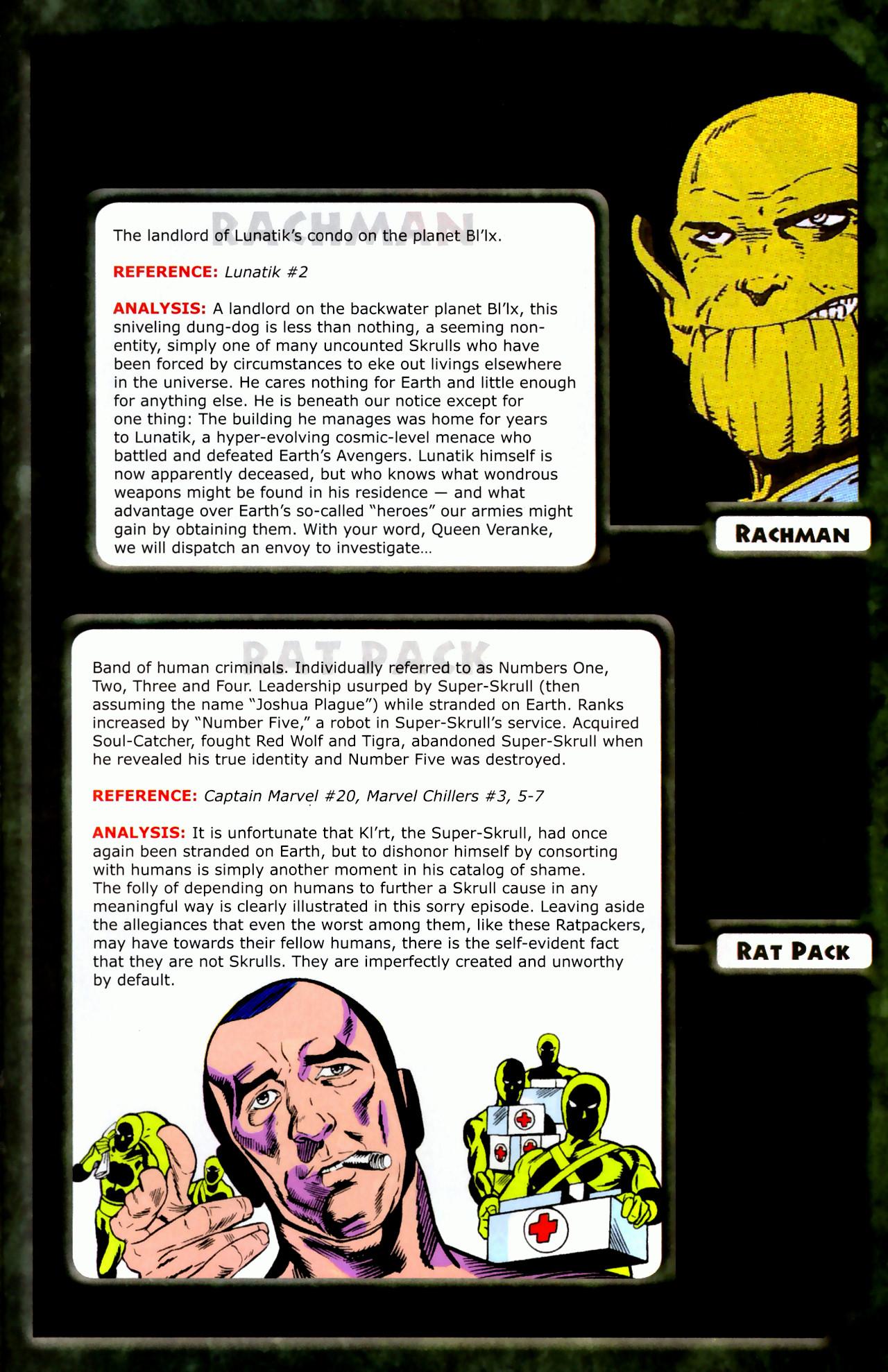 Read online Skrulls! comic -  Issue # Full - 37