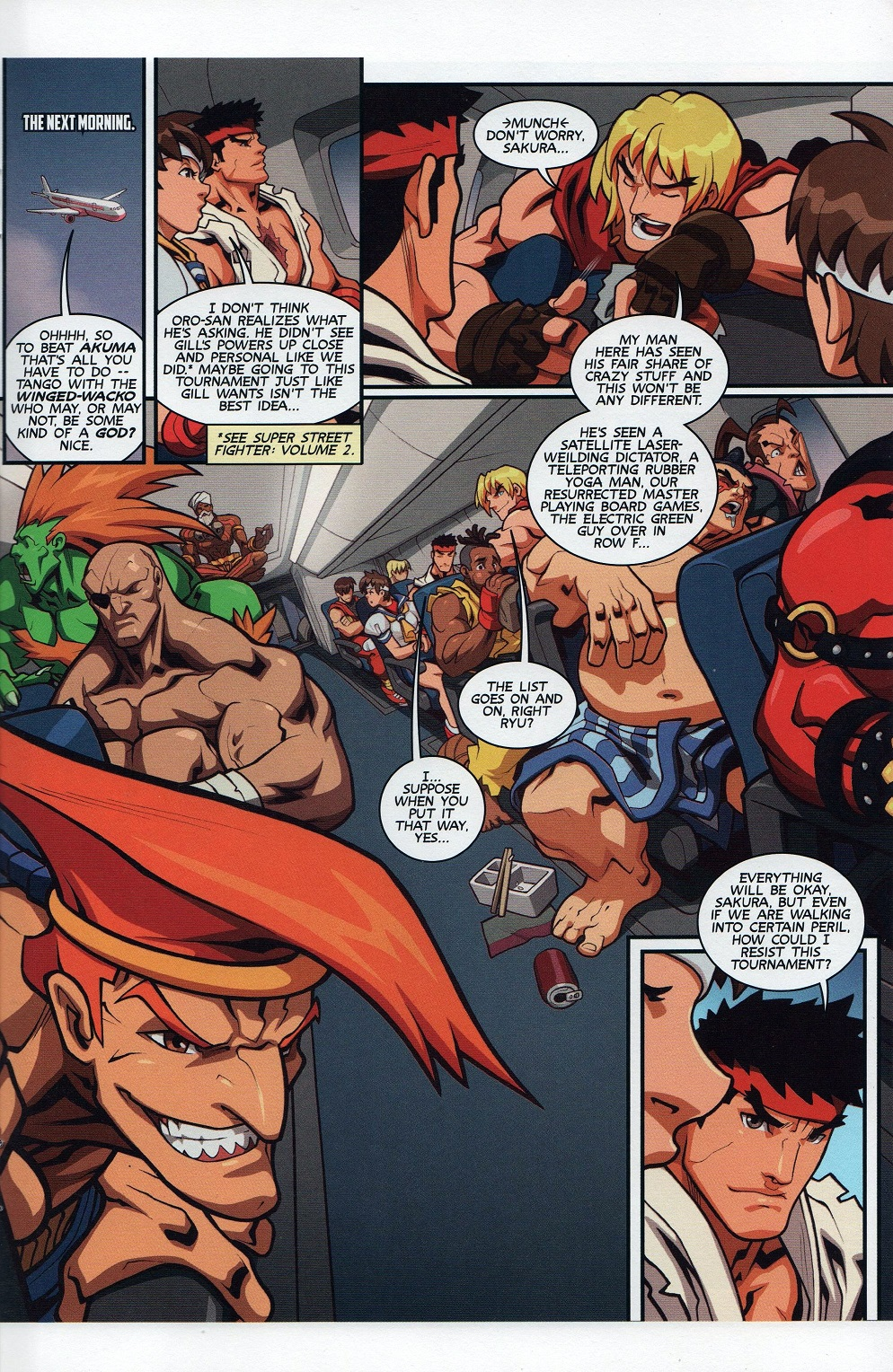Street Fighter Unlimited Issue #7 #9 - English 19