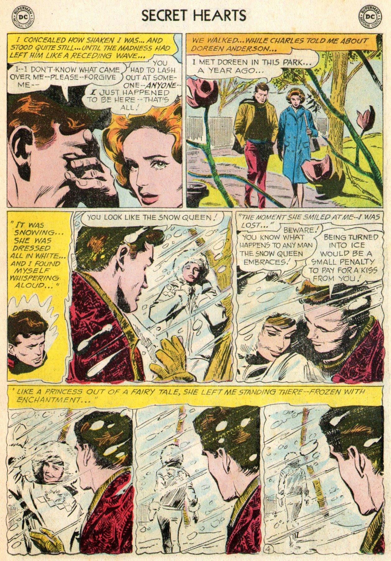Read online Secret Hearts comic -  Issue #103 - 22