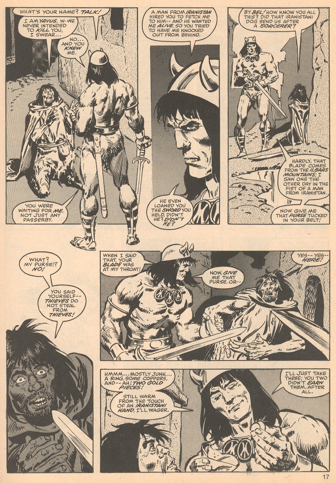 The Savage Sword Of Conan Issue #56 #57 - English 17