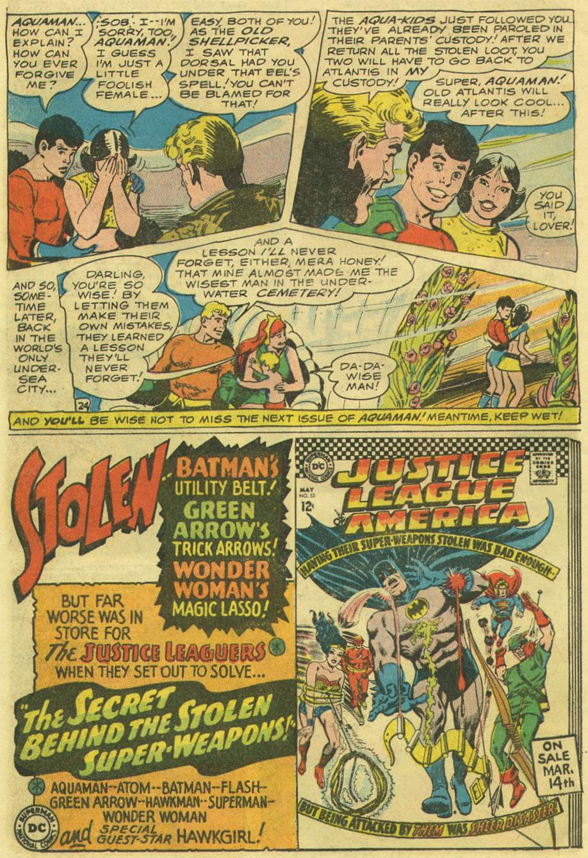 Aquaman (1962) Issue #33 #33 - English 32