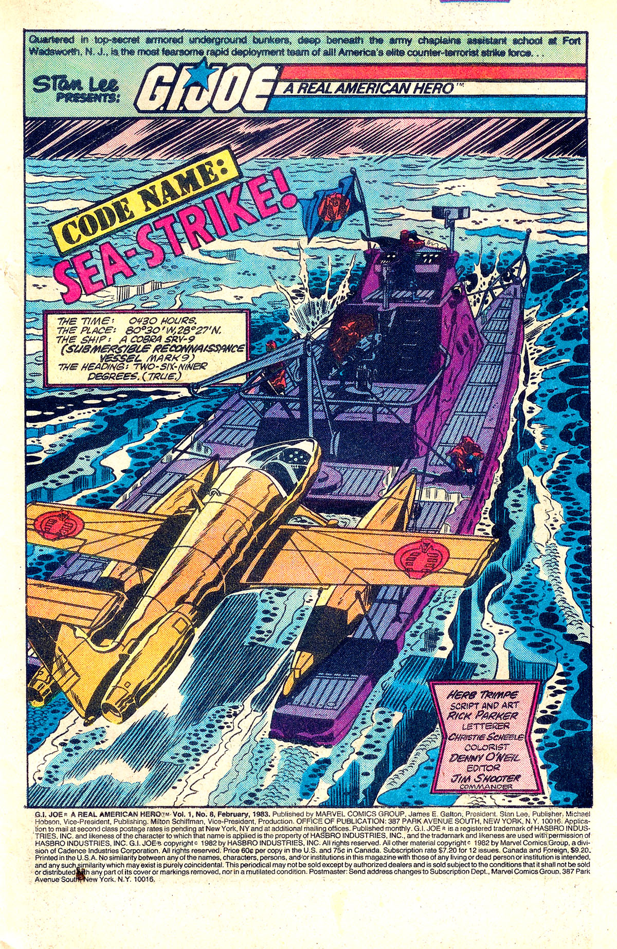 G.I. Joe: A Real American Hero 8 Page 2