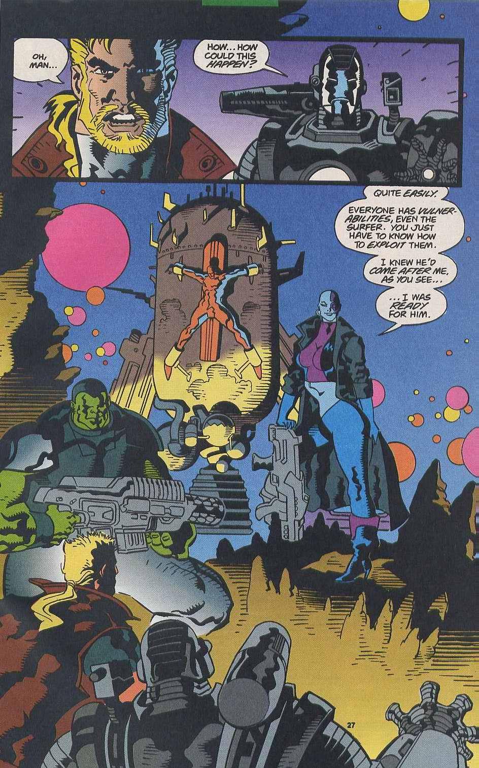 Read online Secret Defenders comic -  Issue #9 - 21
