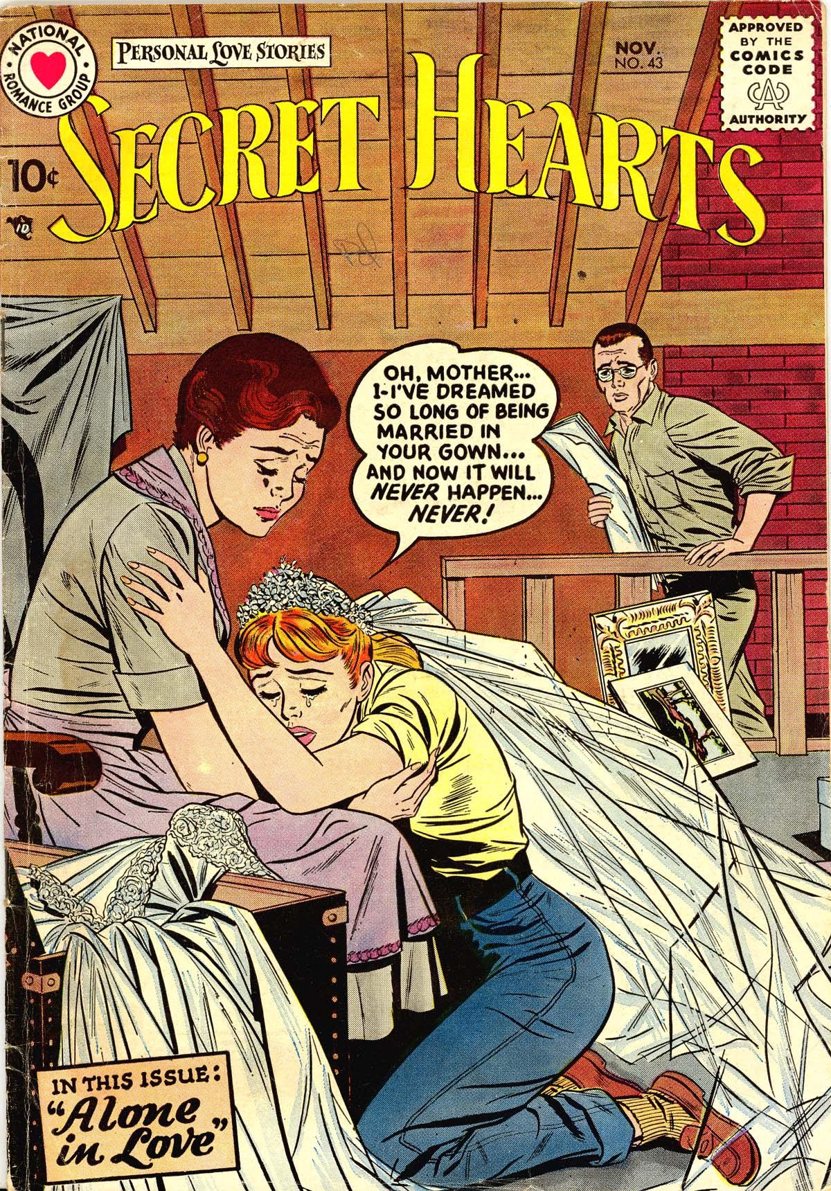Read online Secret Hearts comic -  Issue #43 - 1