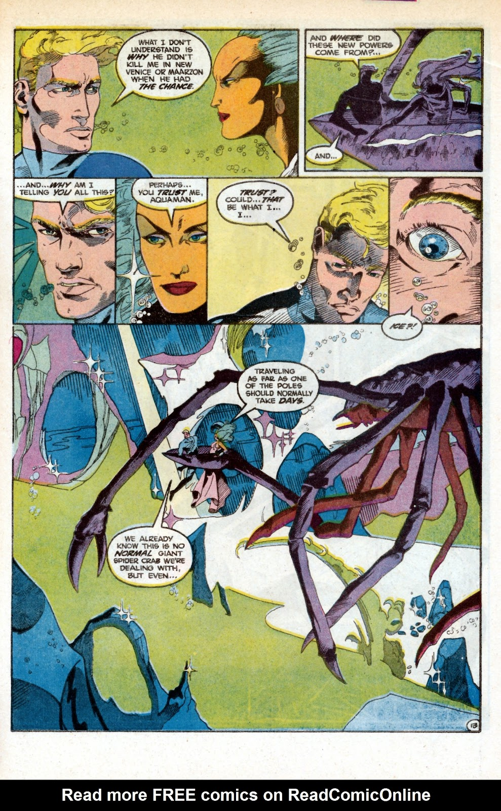 Aquaman (1986) Issue #3 #3 - English 22