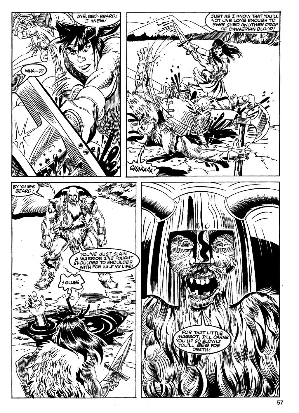 The Savage Sword Of Conan Issue #89 #90 - English 55