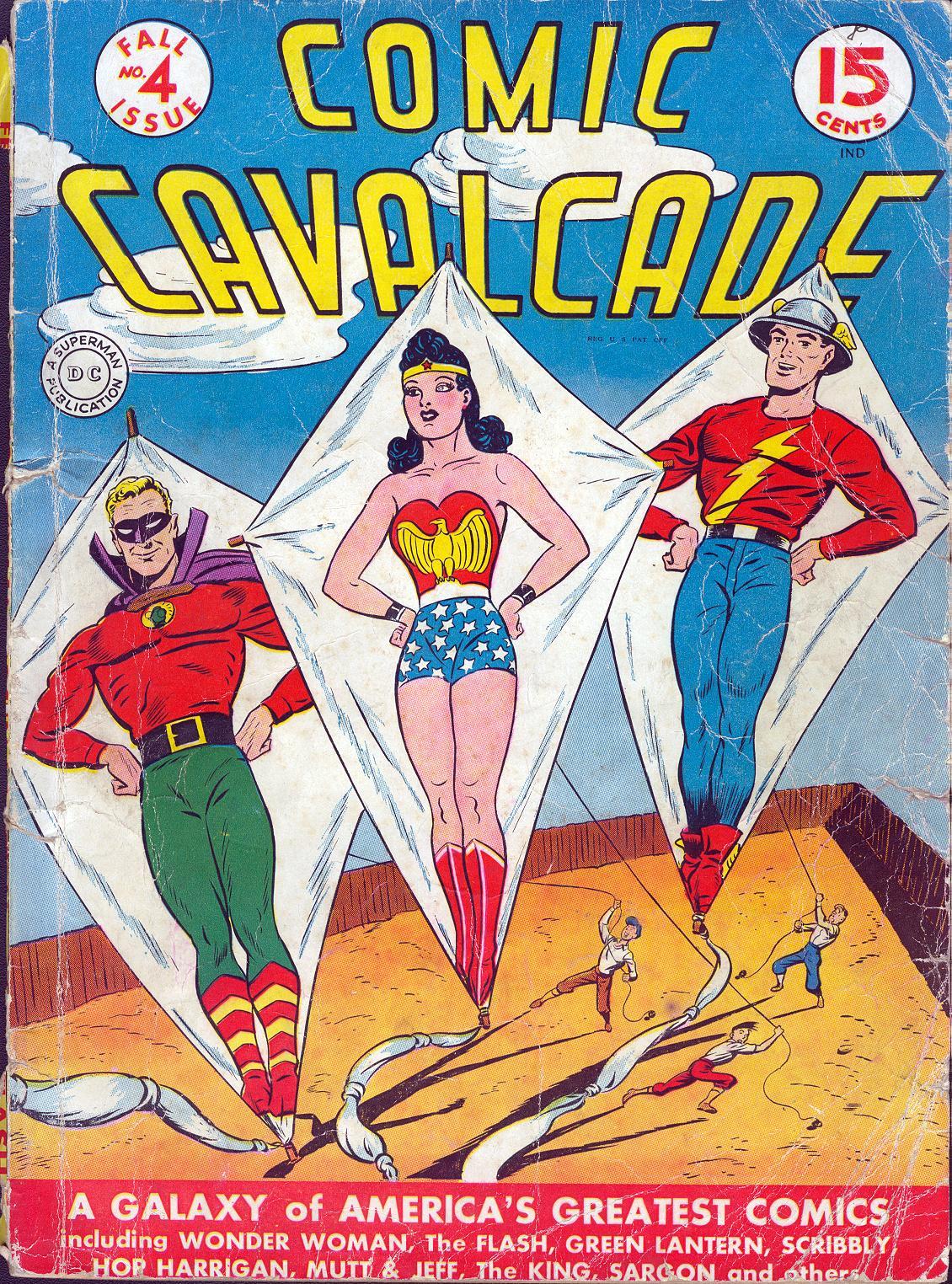 Comic Cavalcade 4 Page 1