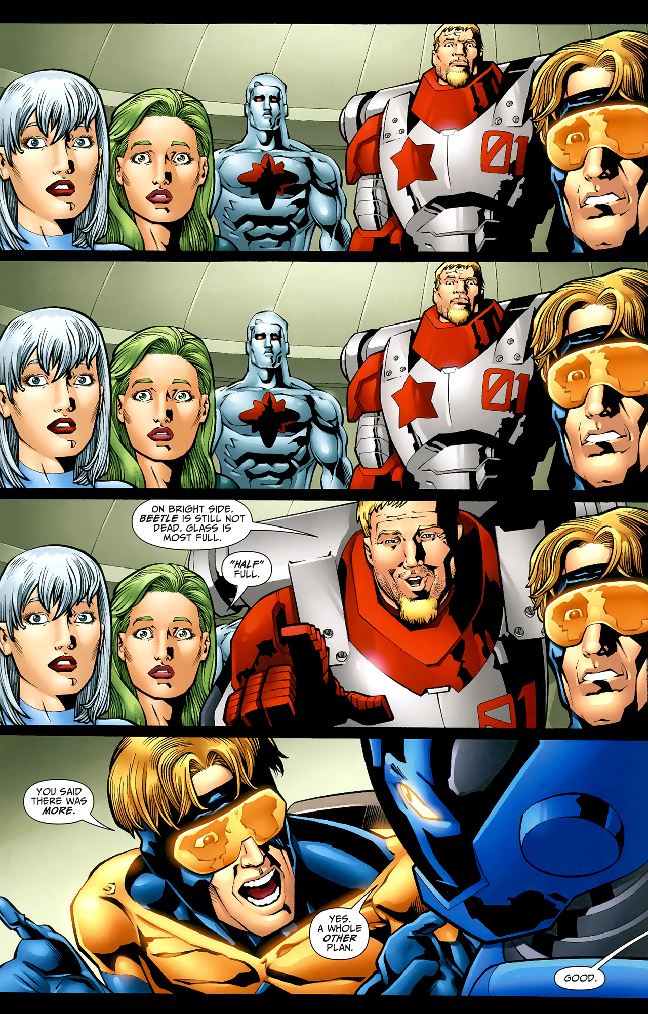 Read online Justice League: Generation Lost comic -  Issue #22 - 9