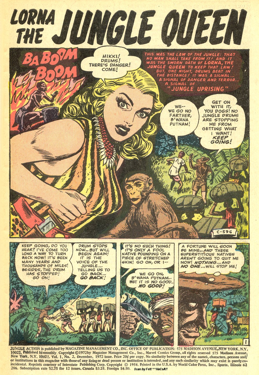 Read online Lorna, The Jungle Queen comic -  Issue #1 - 23
