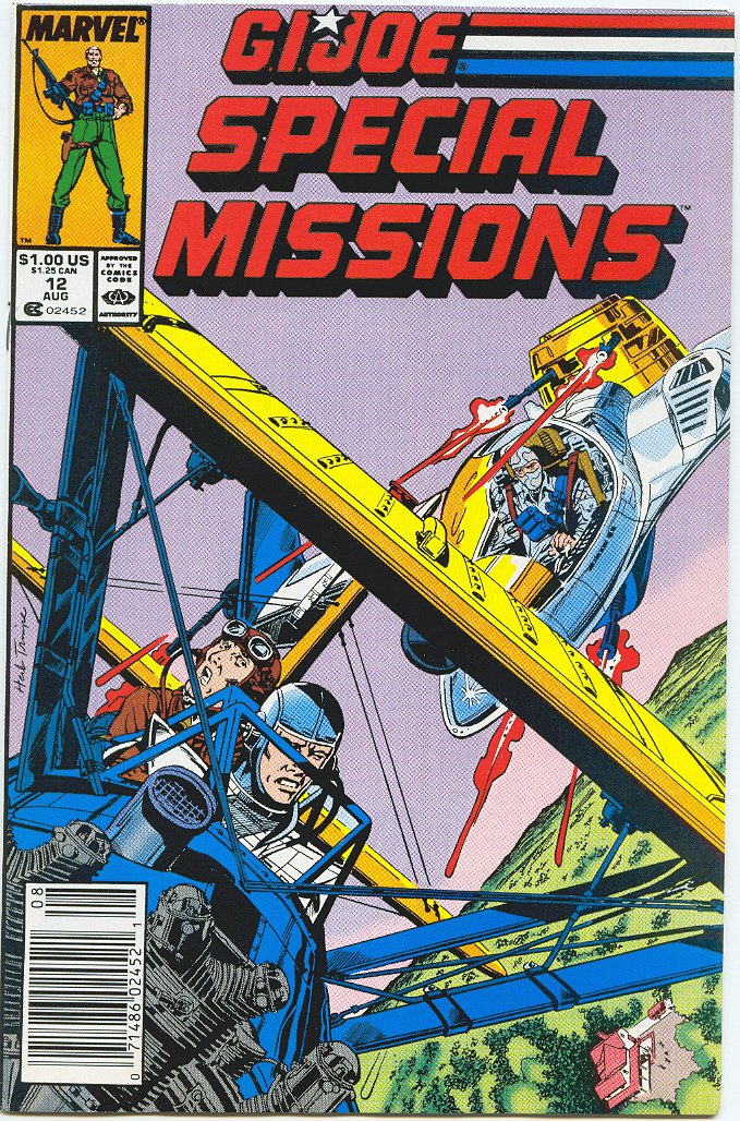 G.I. Joe Special Missions 12 Page 1