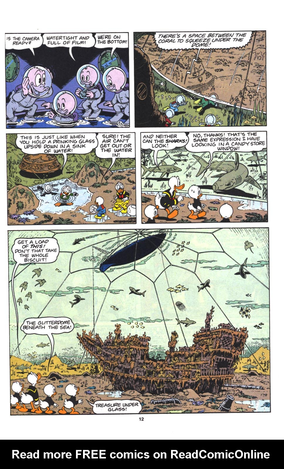 Uncle Scrooge (1953) Issue #263 #263 - English 13