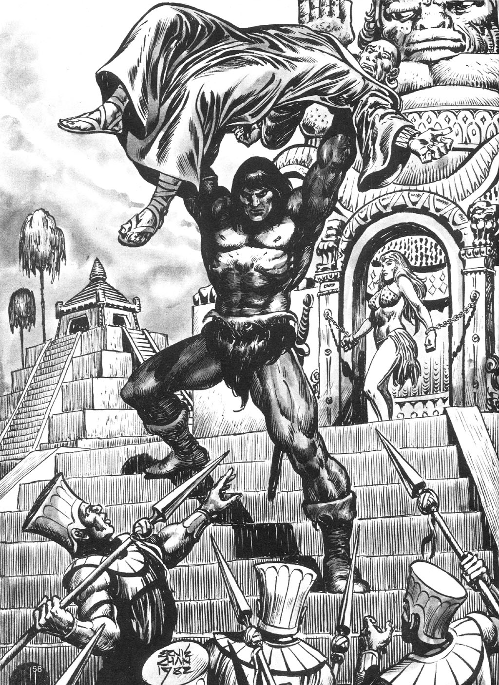 The Savage Sword Of Conan Issue #87 #88 - English 58