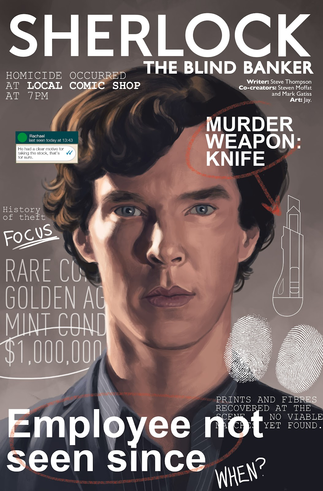 Sherlock: The Blind Banker Issue #1 #1 - English 3