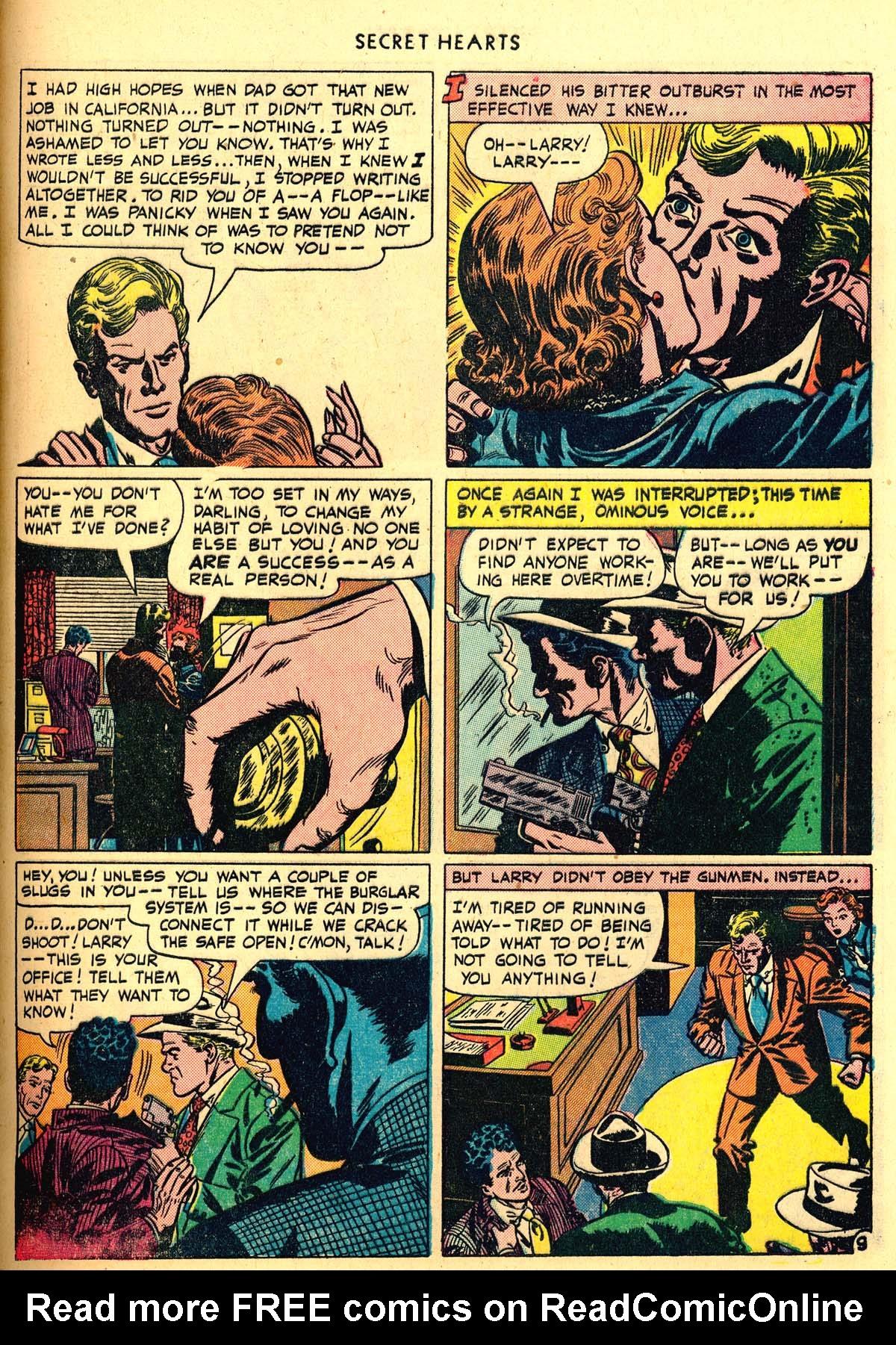 Read online Secret Hearts comic -  Issue #6 - 49