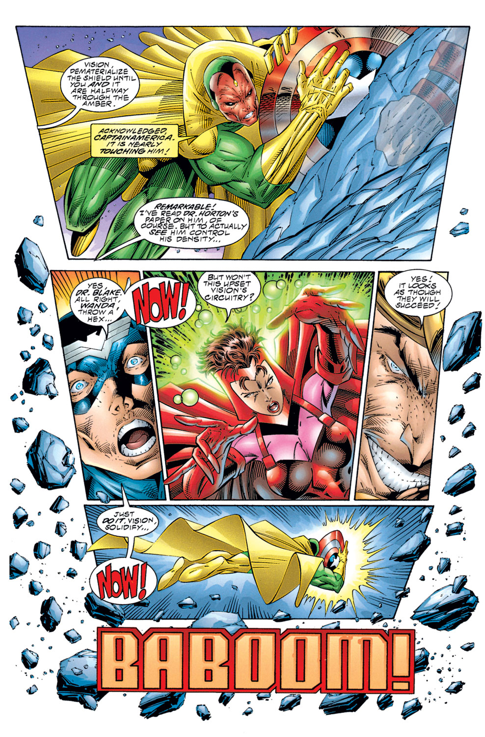 Read online Avengers (1996) comic -  Issue #1 - 22