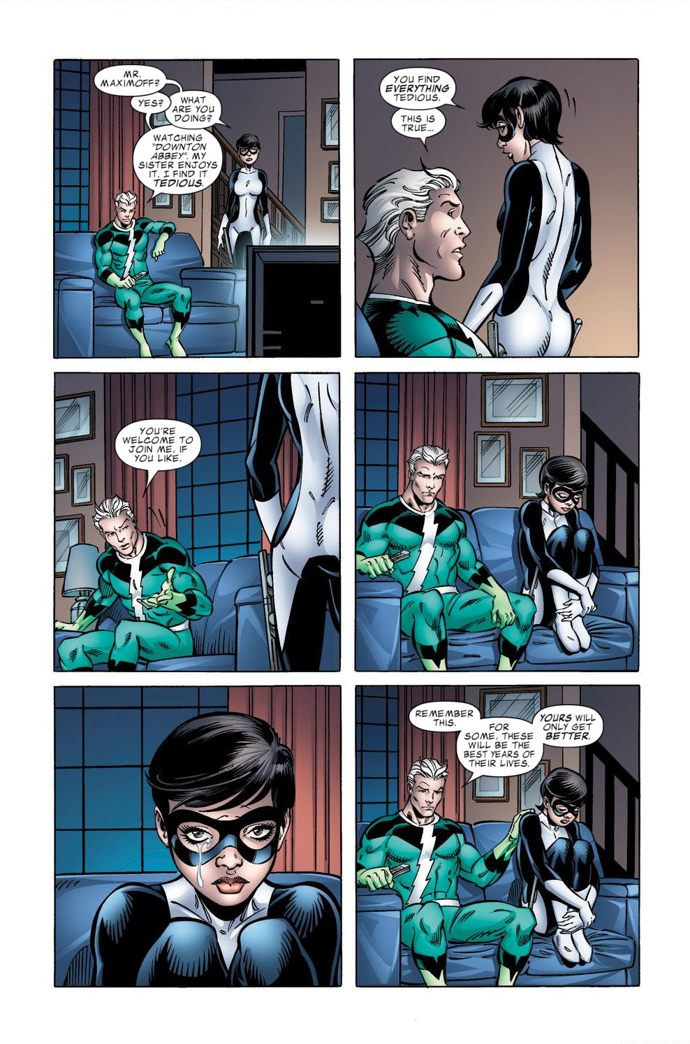 Avengers Academy Issue #39 #40 - English 14