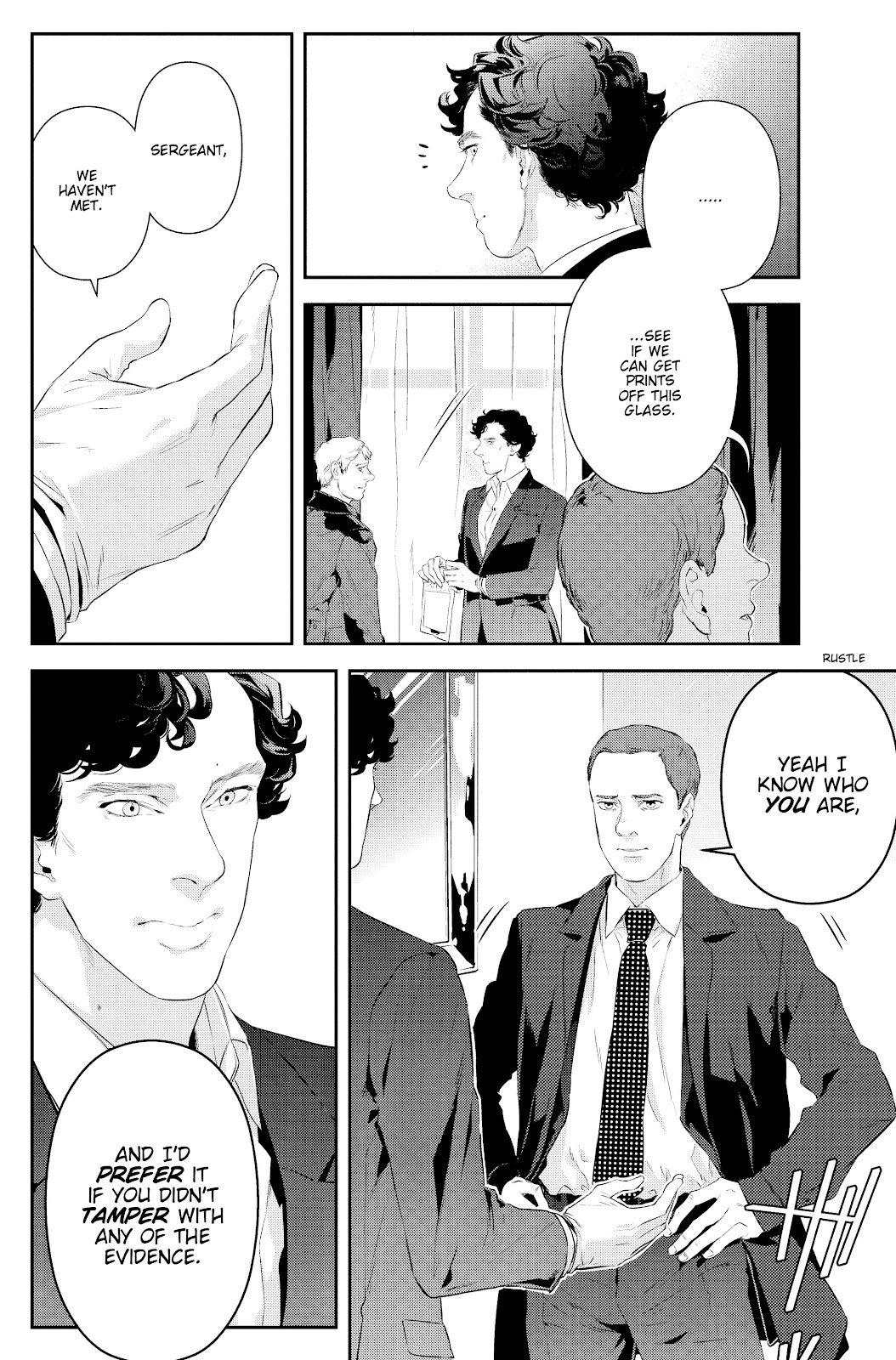 Sherlock: The Blind Banker Issue #2 #2 - English 11