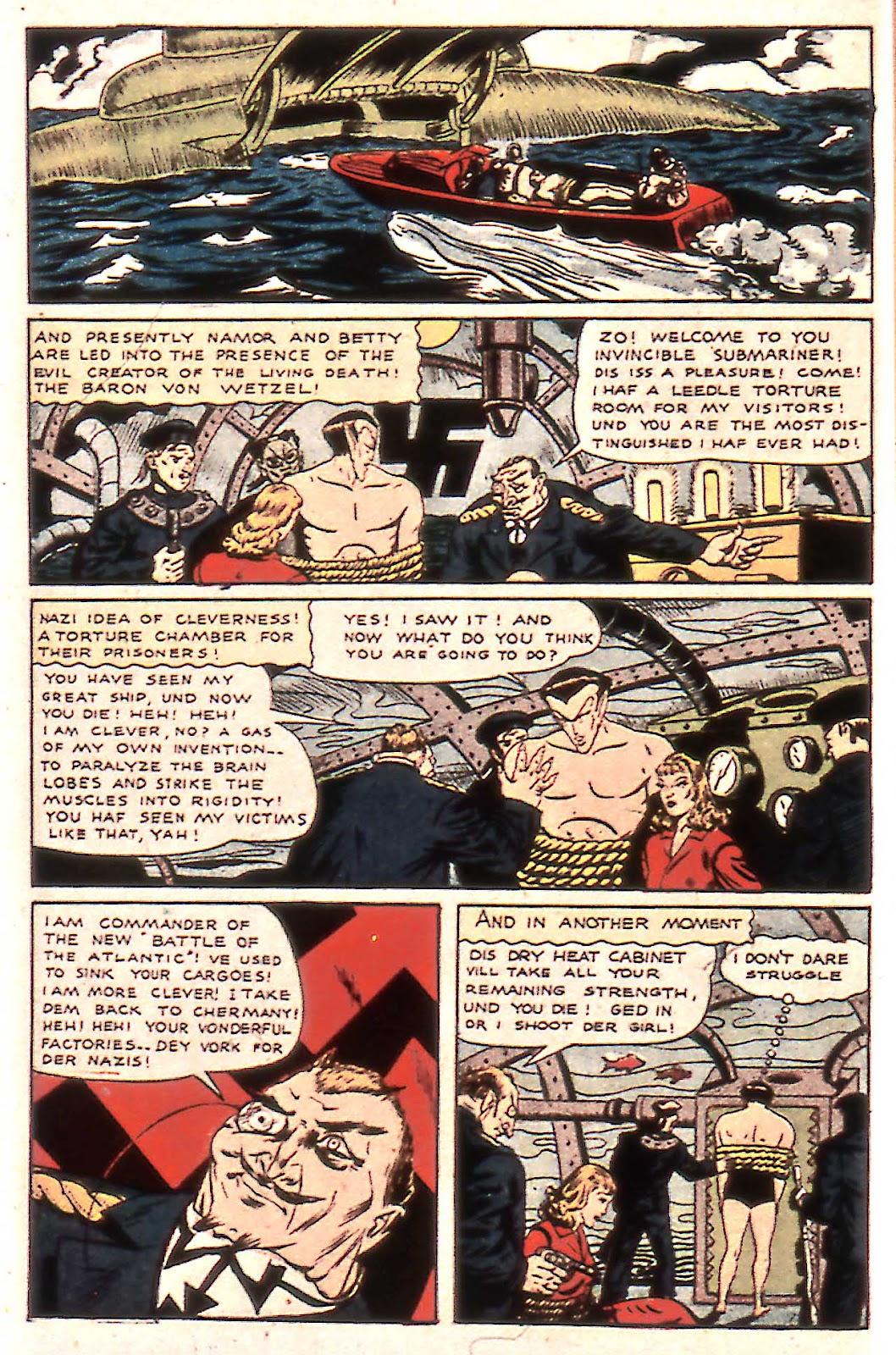 Sub-Mariner Comics Issue #14 #14 - English 12