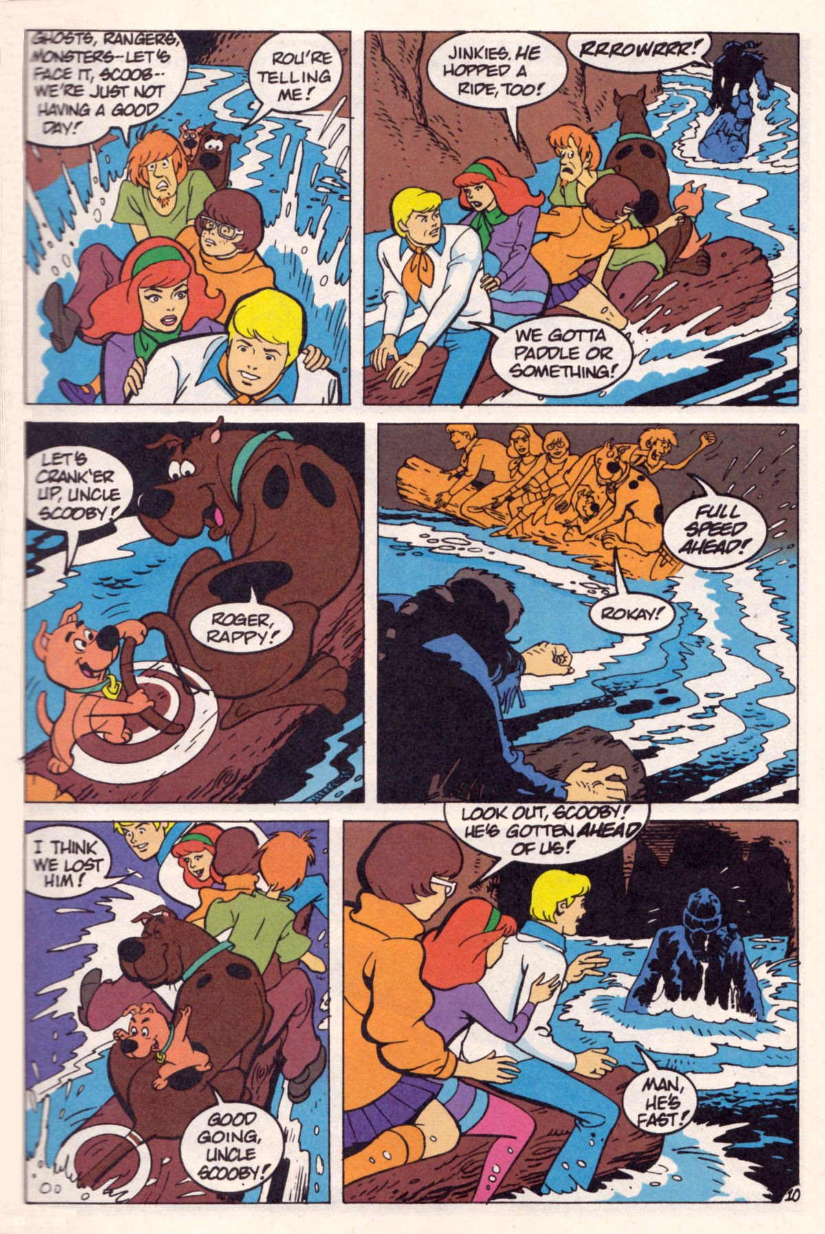 Read online Scooby-Doo (1995) comic -  Issue #12 - 12