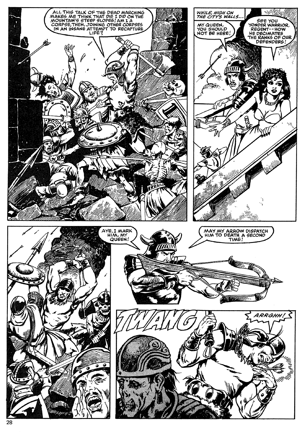 The Savage Sword Of Conan Issue #110 #111 - English 27
